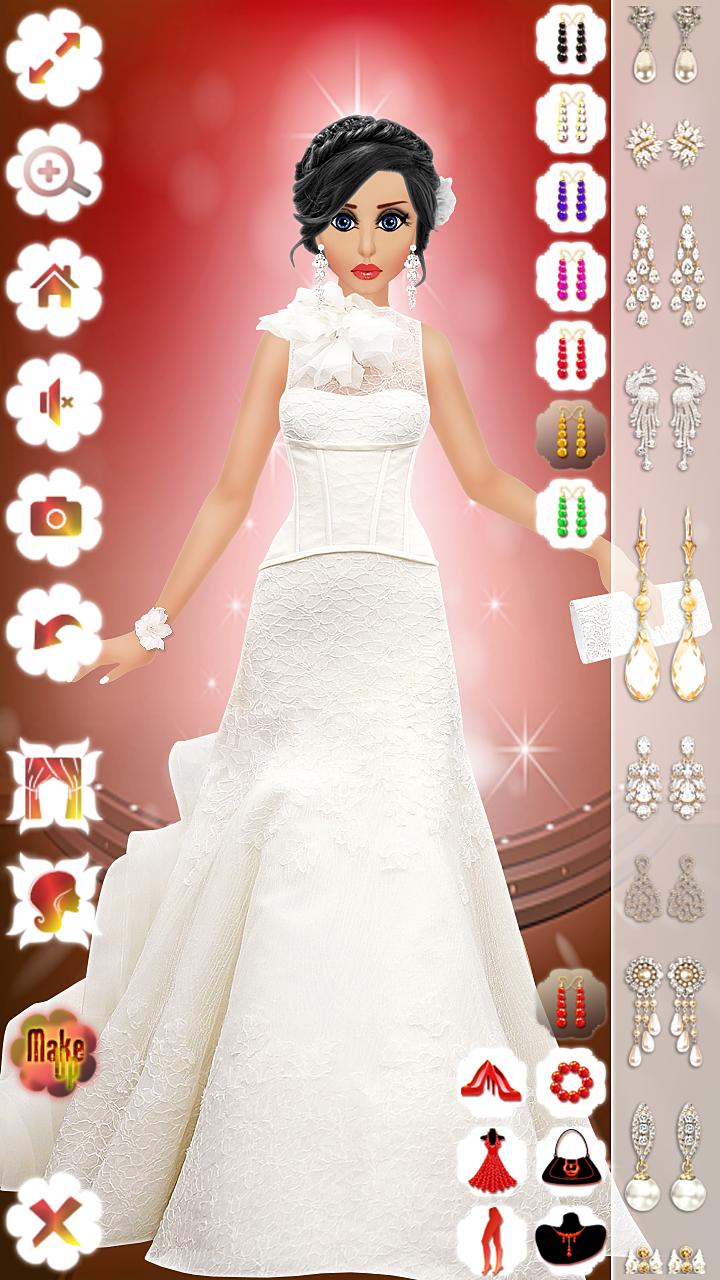 Barbie Doll Wedding Bridal Makeup, Hairstyle & Dressing Up