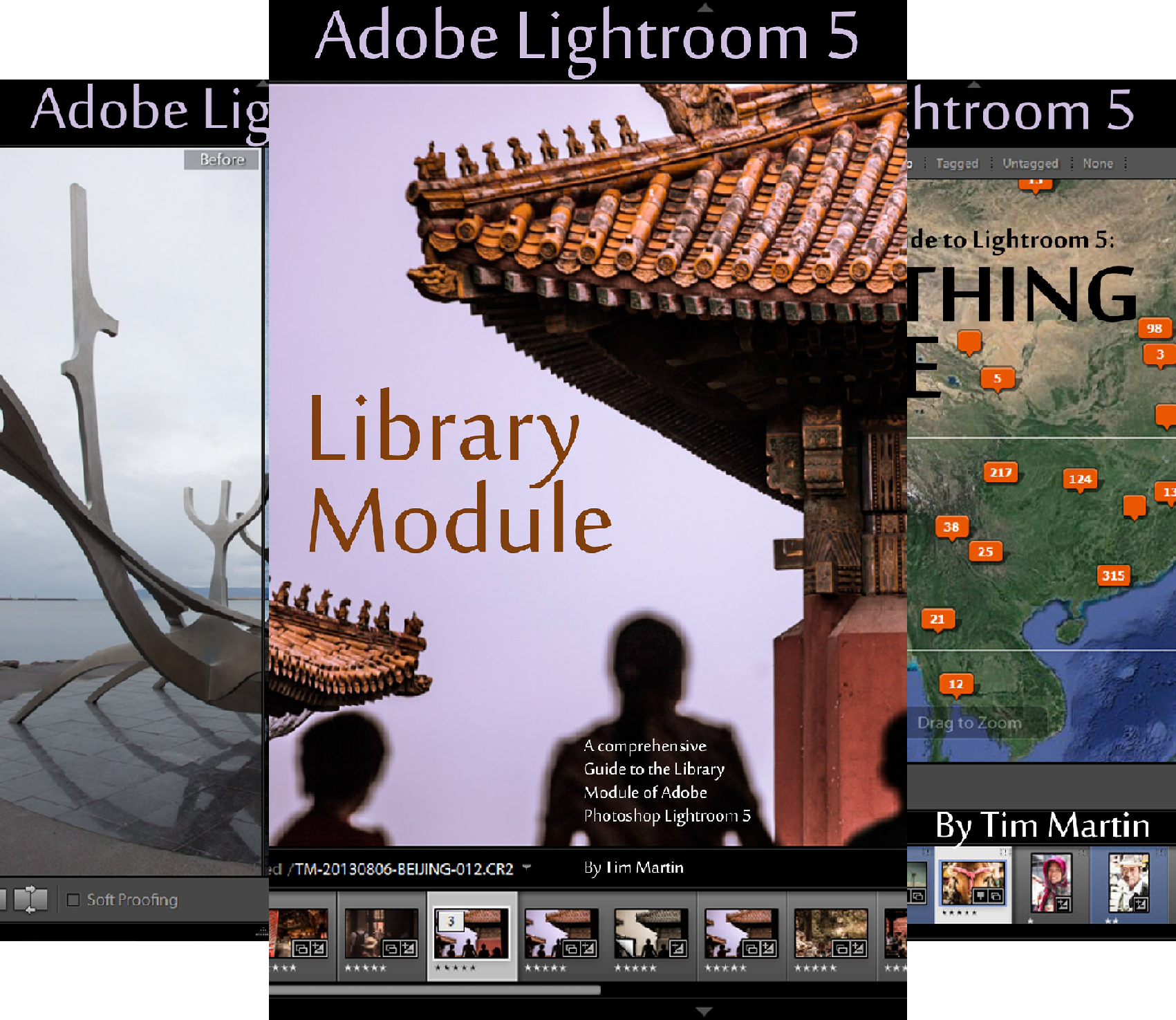 Photographer's Guide to Lightroom 5 (3 Book Series)