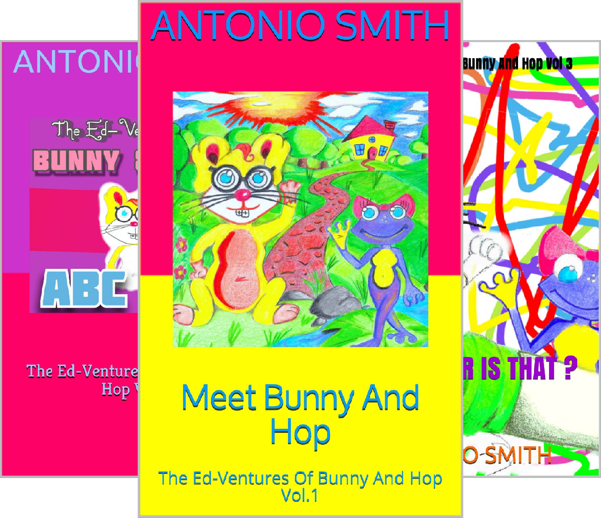 The Ed-Ventures Of Bunny And Hop (3 Book Series)