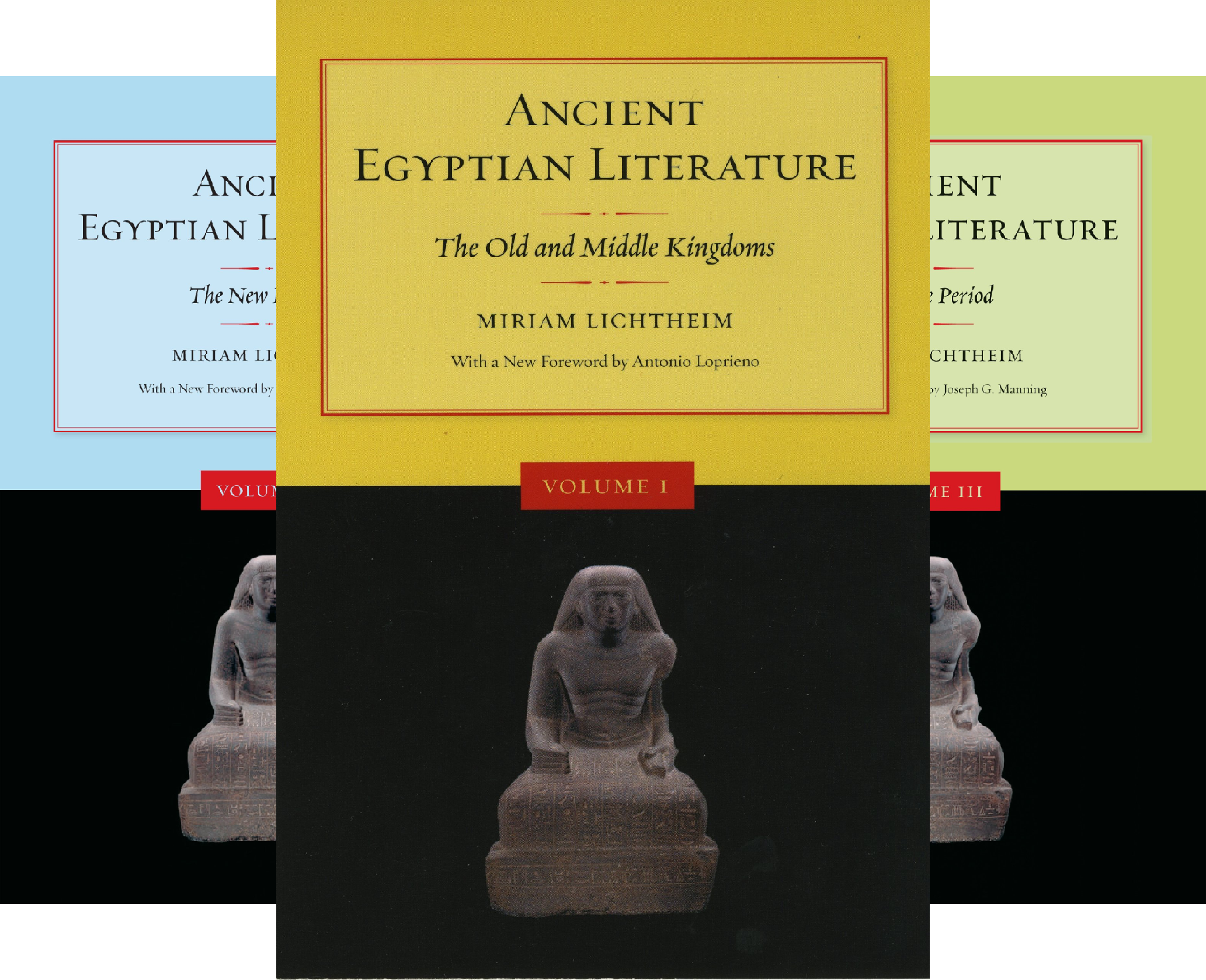 Ancient Egyptian Literature (3 Book Series)