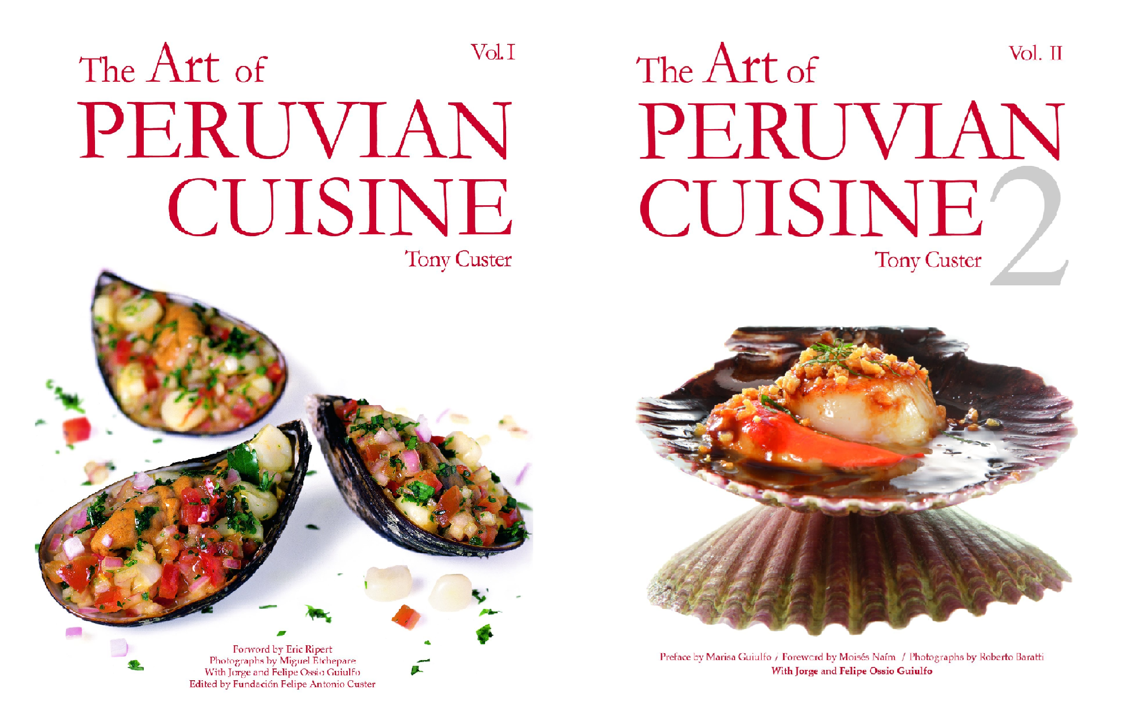 The Art of Peruvian Cuisine (2 Book Series)