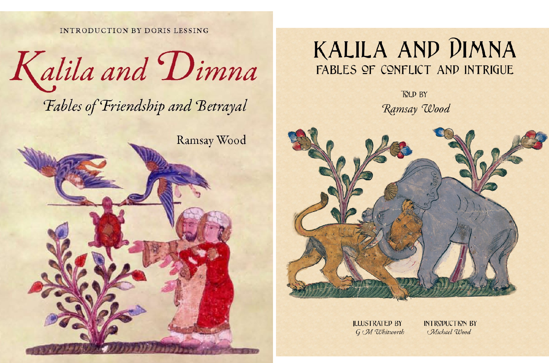 Kalila and Dimna (2 Book Series)