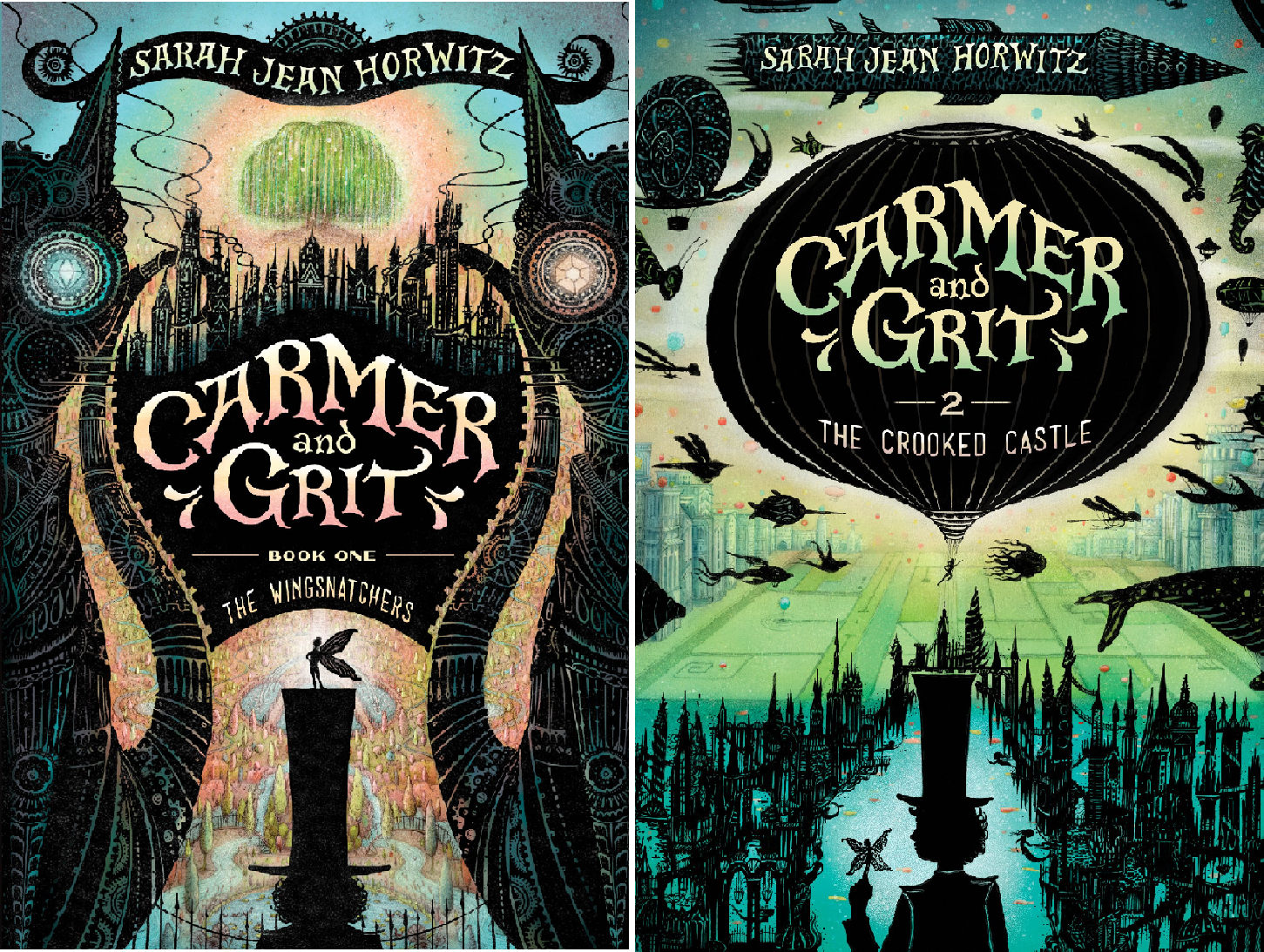 Carmer and Grit (2 Book Series)