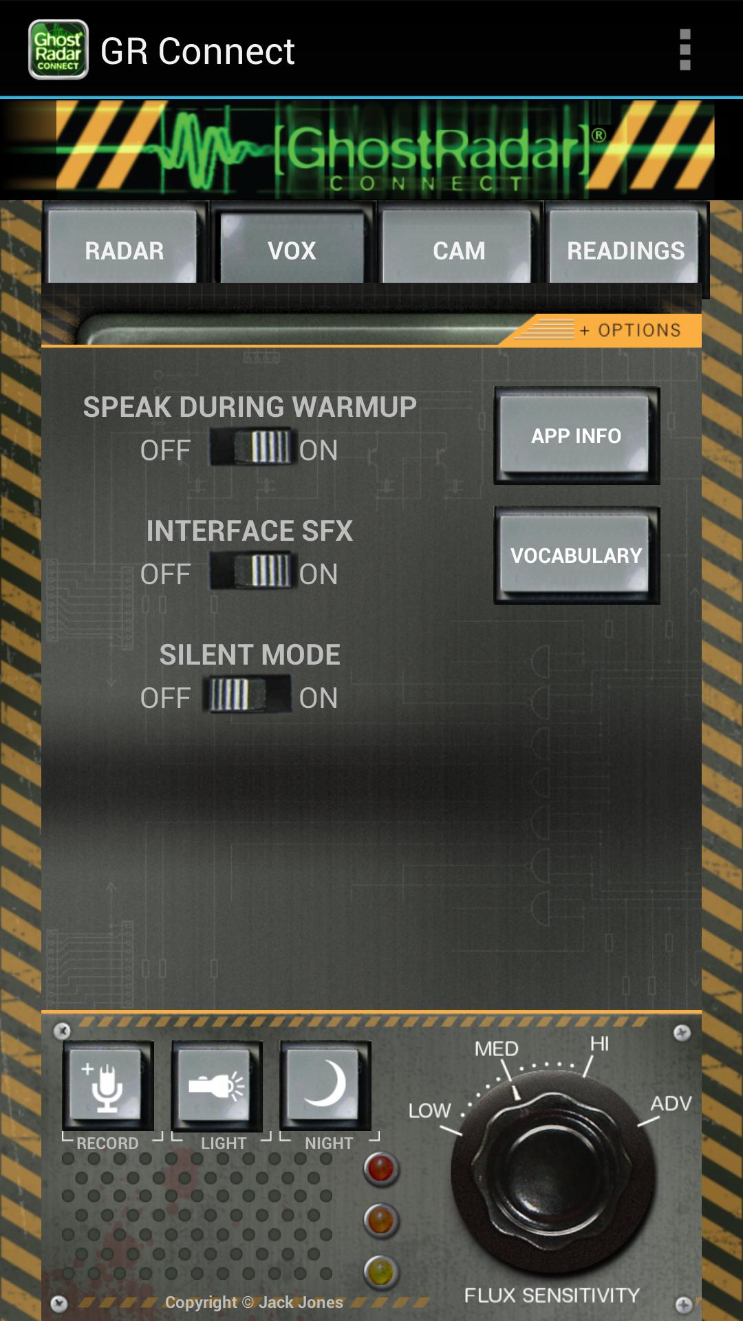 Ghost Radar®: CONNECT Screenshot