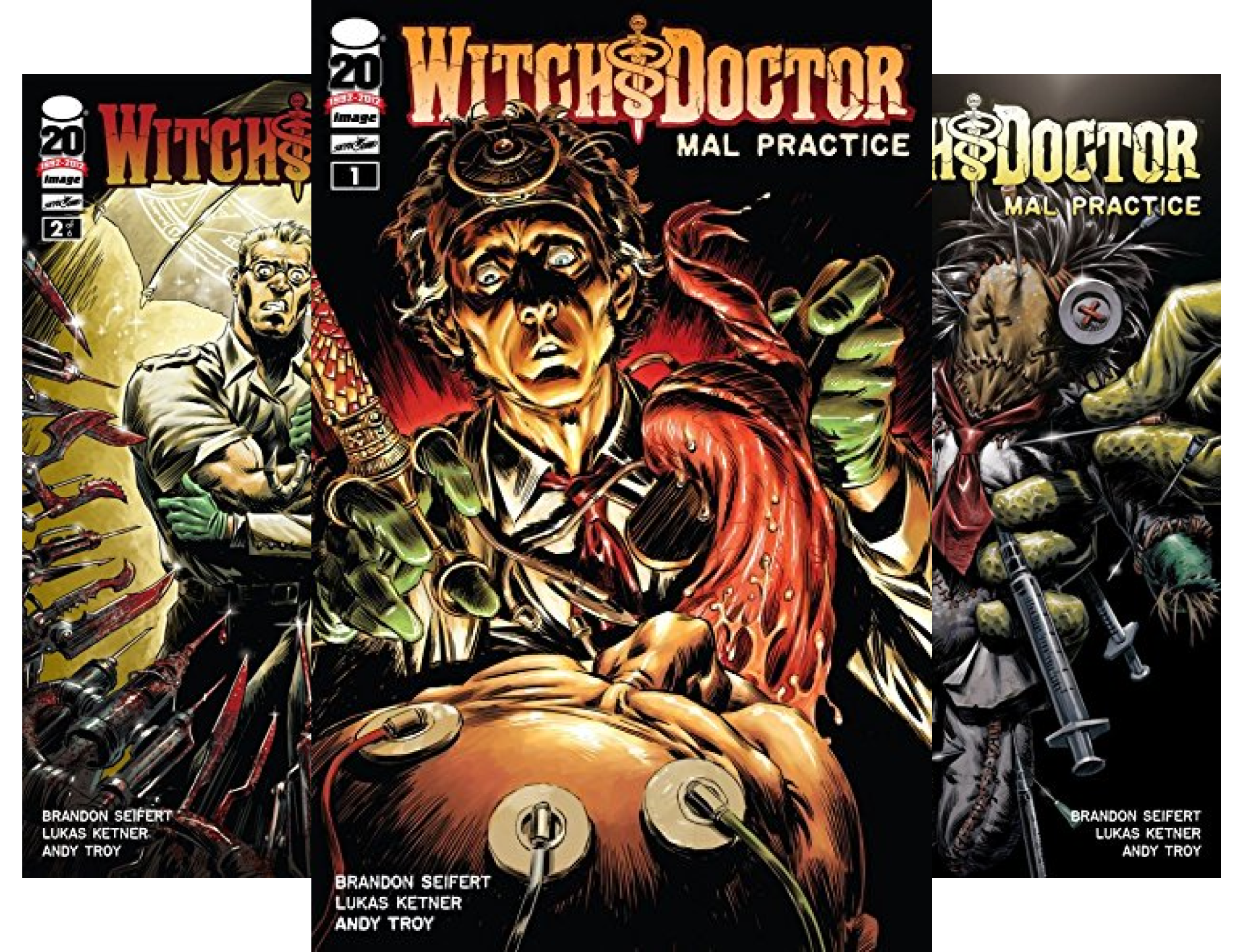 Witch Doctor: Mal Practice (Issues) (5 Book Series)