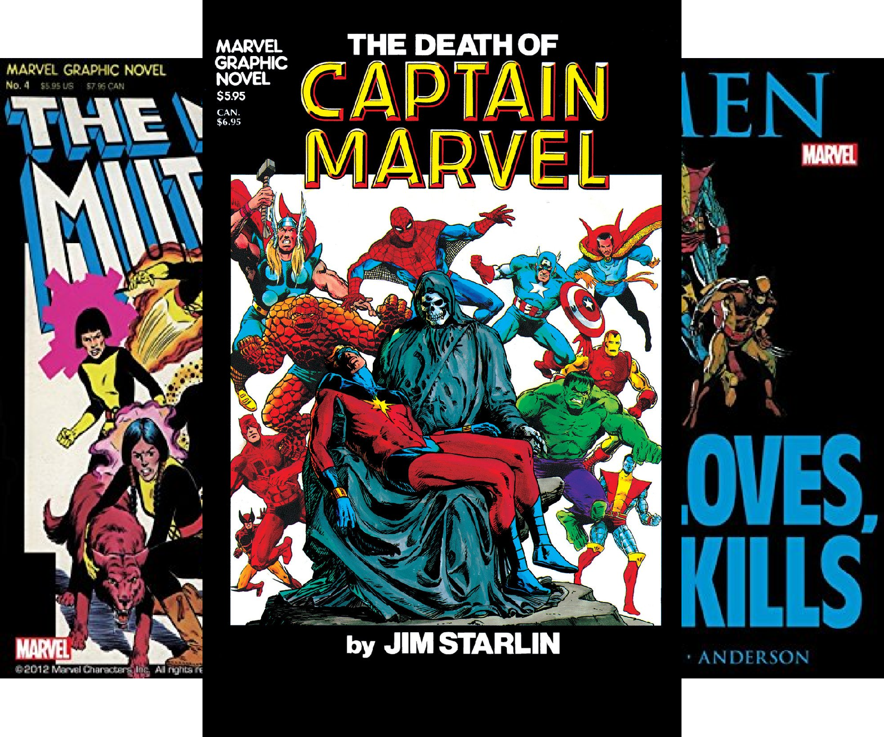 Marvel Graphic Novel (1982) (Issues) (8 Book Series)