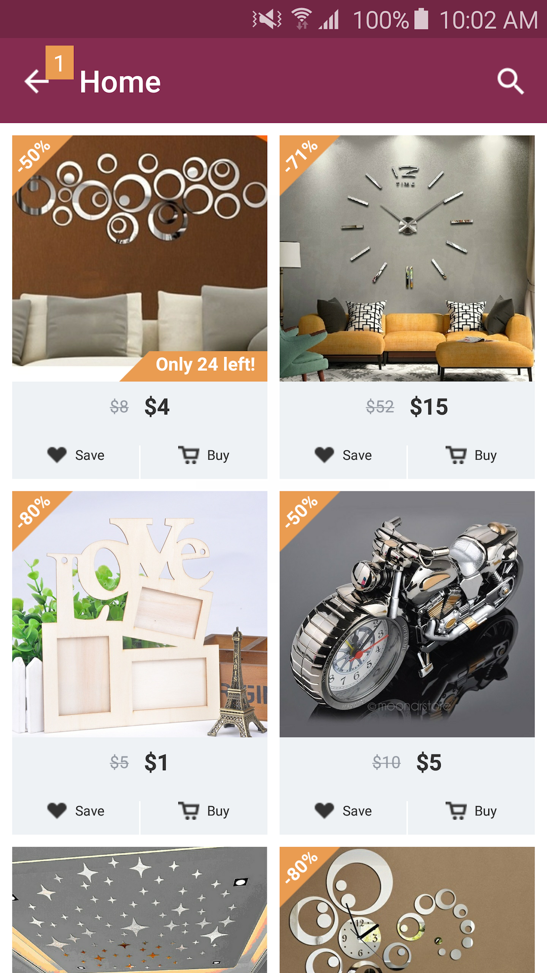 Home - Design & Decor Shopping: Amazon.co.uk: Appstore for Android