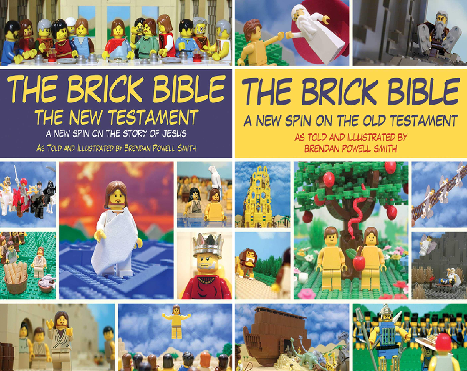 The Brick Bible: The Complete Set (2 Book Series)