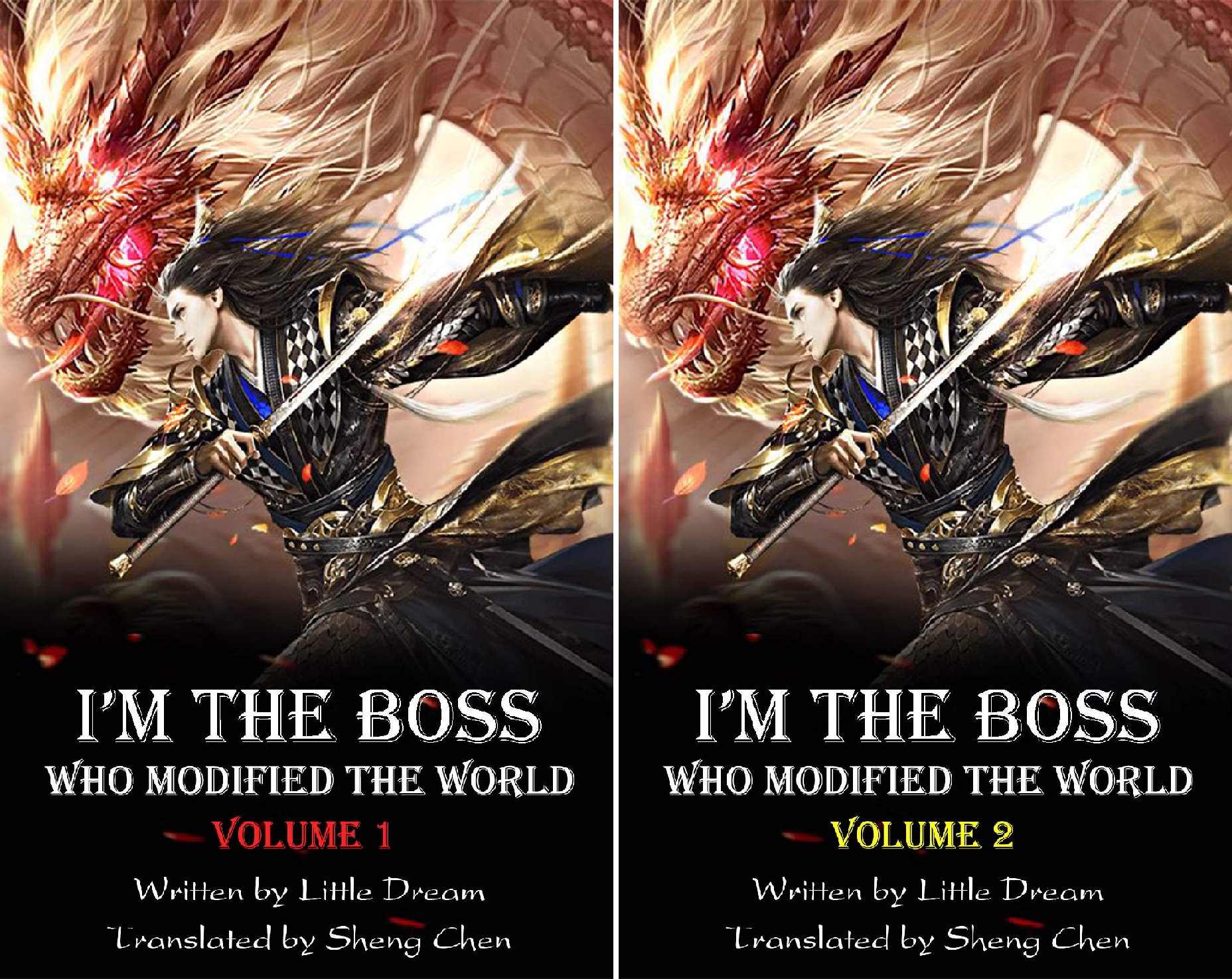 I'm the Boss Who Modified the World (2 Book Series) - Zenith Serie