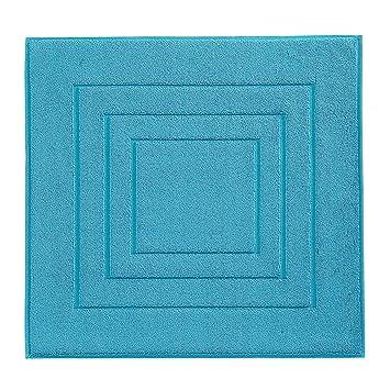 badeteppich vossen calypso shower mat turquoise 60x60 cm badteppich grau meliert