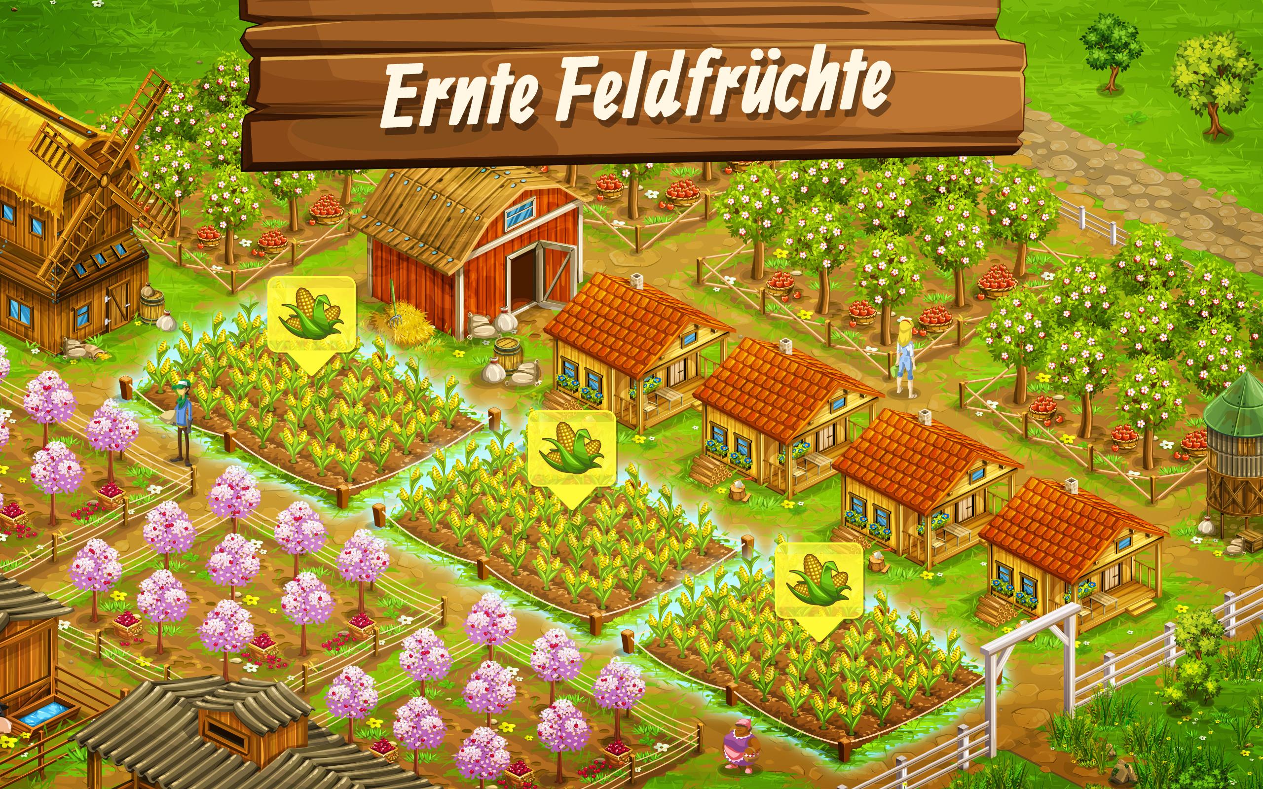 Big Farm: Mobile Harvest: Amazon.de: Apps für Android