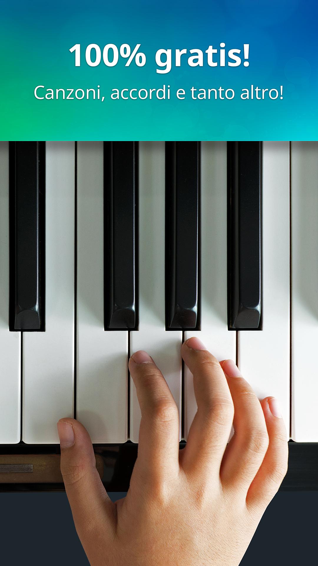 piano tastiera realistica del pianoforte e giochi per