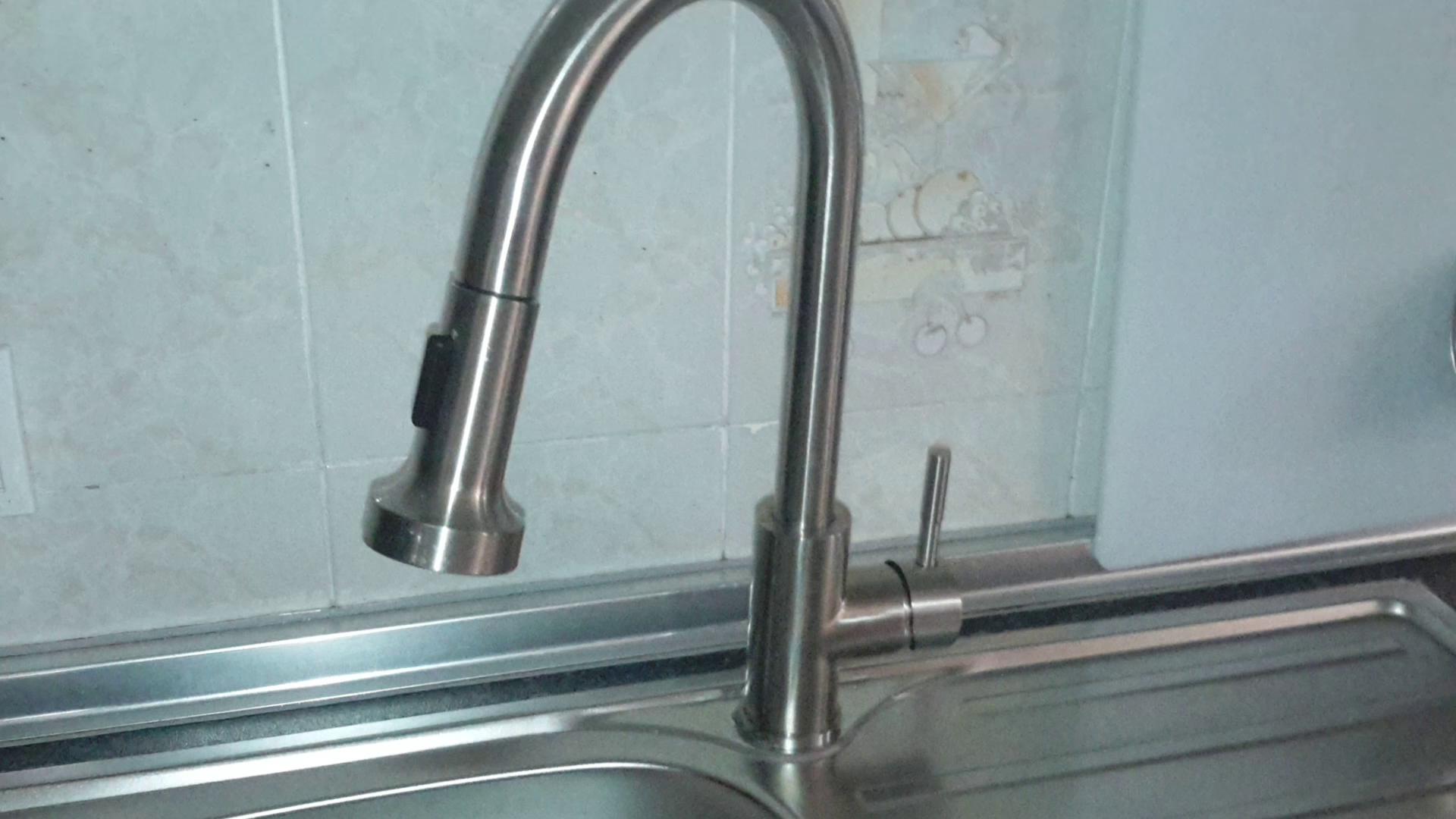 ieGeek Grifo de Cocina Extraiga el Grifo Mezclador de Ducha de mano de Mano Grifo para Fregadero de Cocina Fregadero Agua Fría y Caliente: Amazon.es: ...