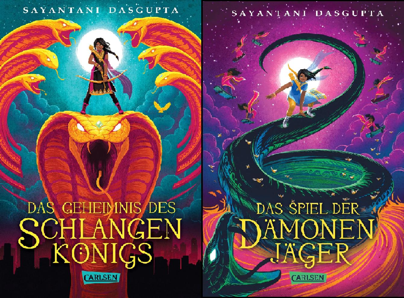 Kiranmalas Abenteuer (Reihe in 2 Bänden)