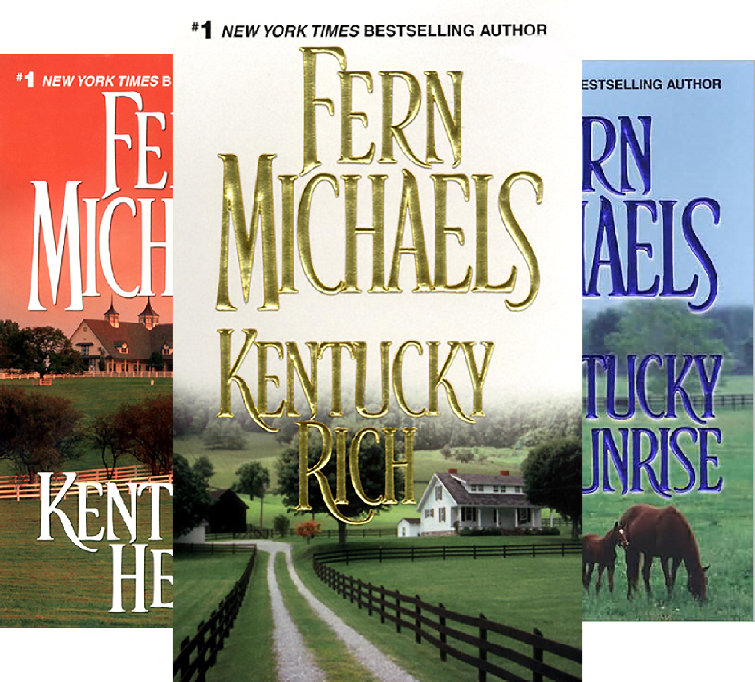 Kentucky (3 Book Series) -