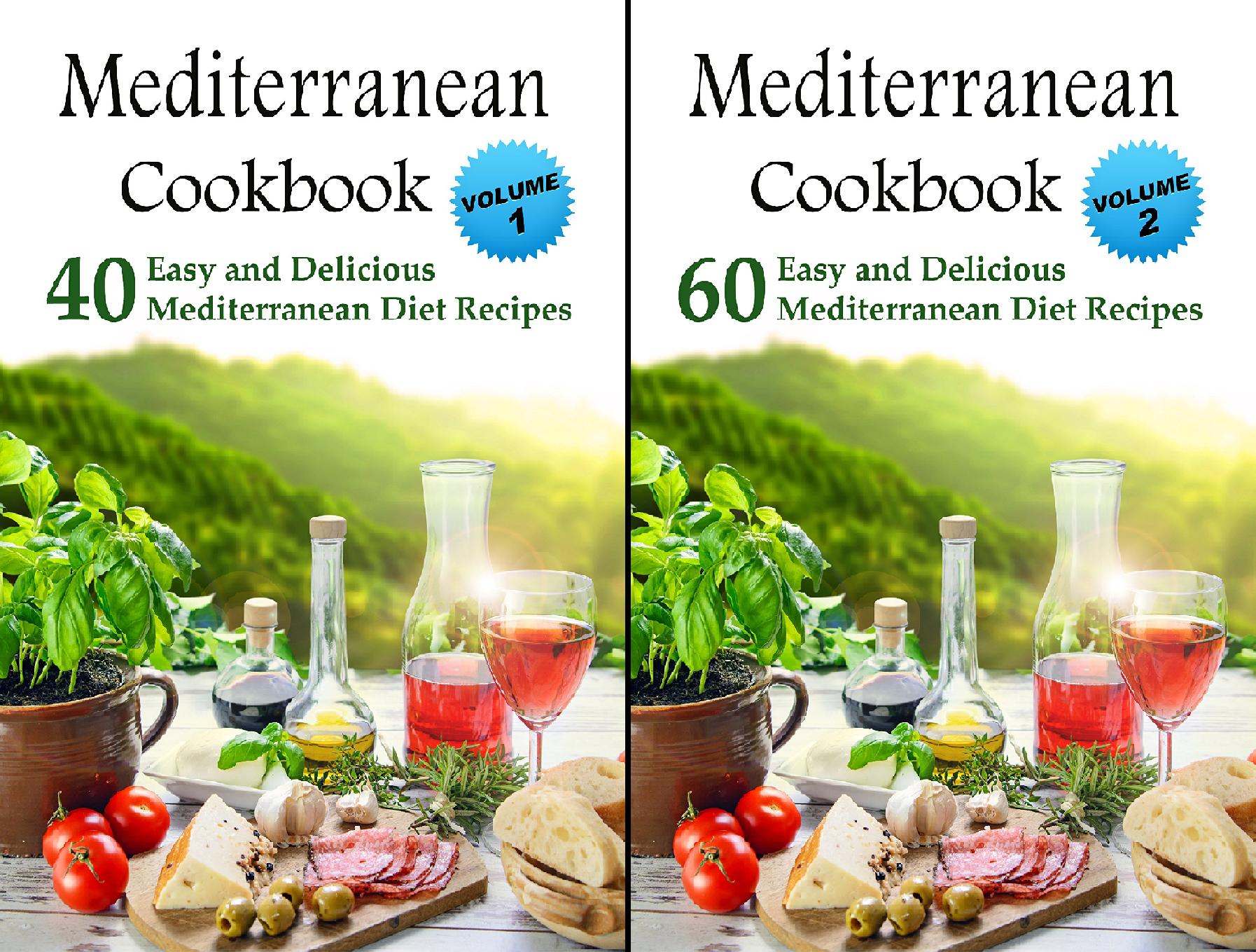 Mediterranean Cookbook (2 Book Series)