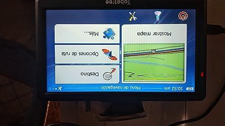 Tobetree Gps Touchscreen Für Auto 7 Zoll 17 8 Cm Hohe Auflösung Gps Für Auto Mit Bluetooth Kostenlosem Update Europa Für Lebensdauer Navigation