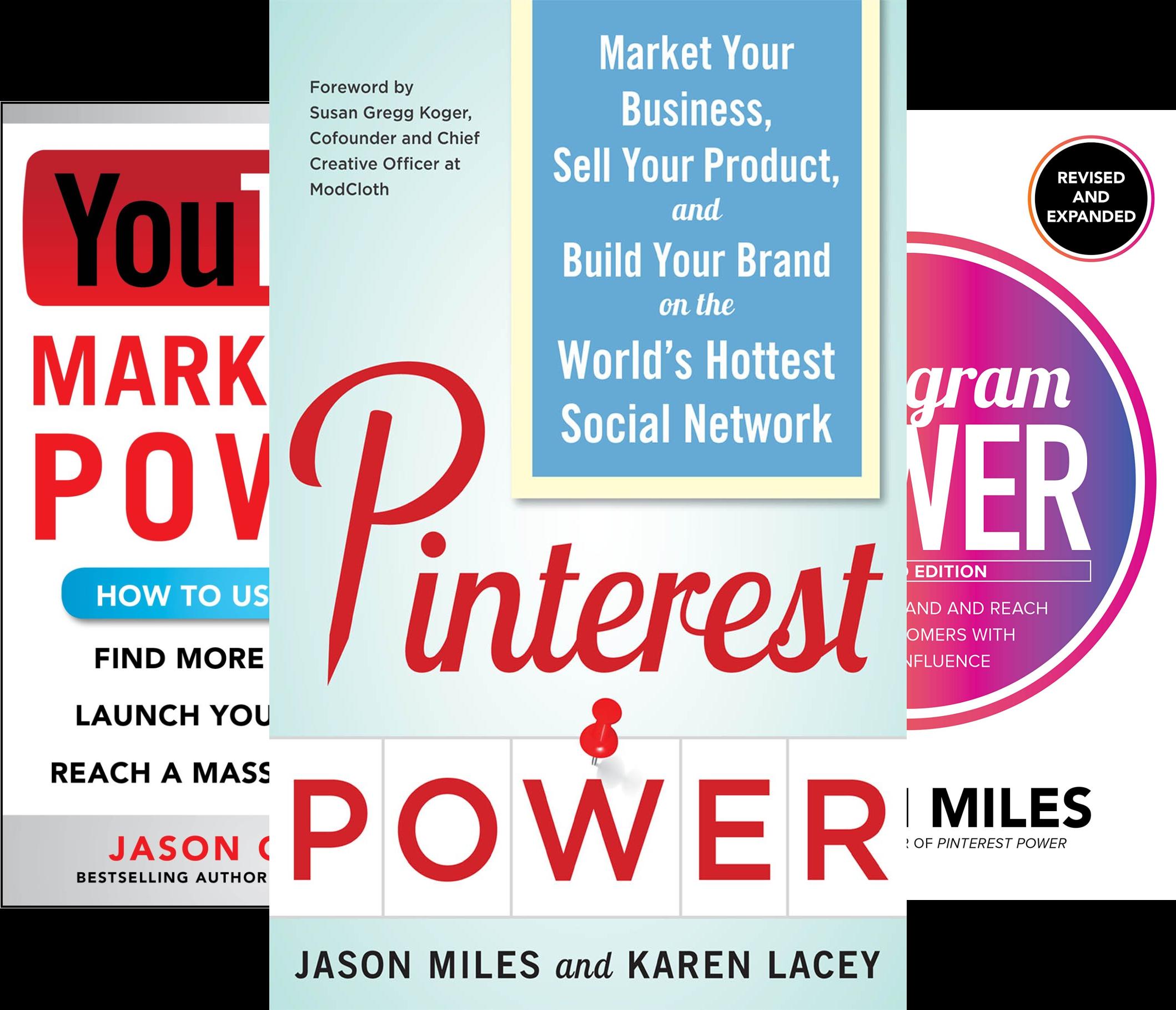 The Marketing Power Series (3 Book Series)