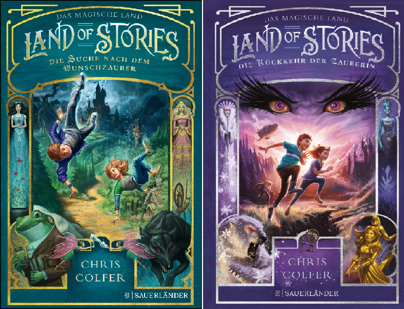 The Land of Stories (Reihe in 2 (Hexe In Schneewittchen)