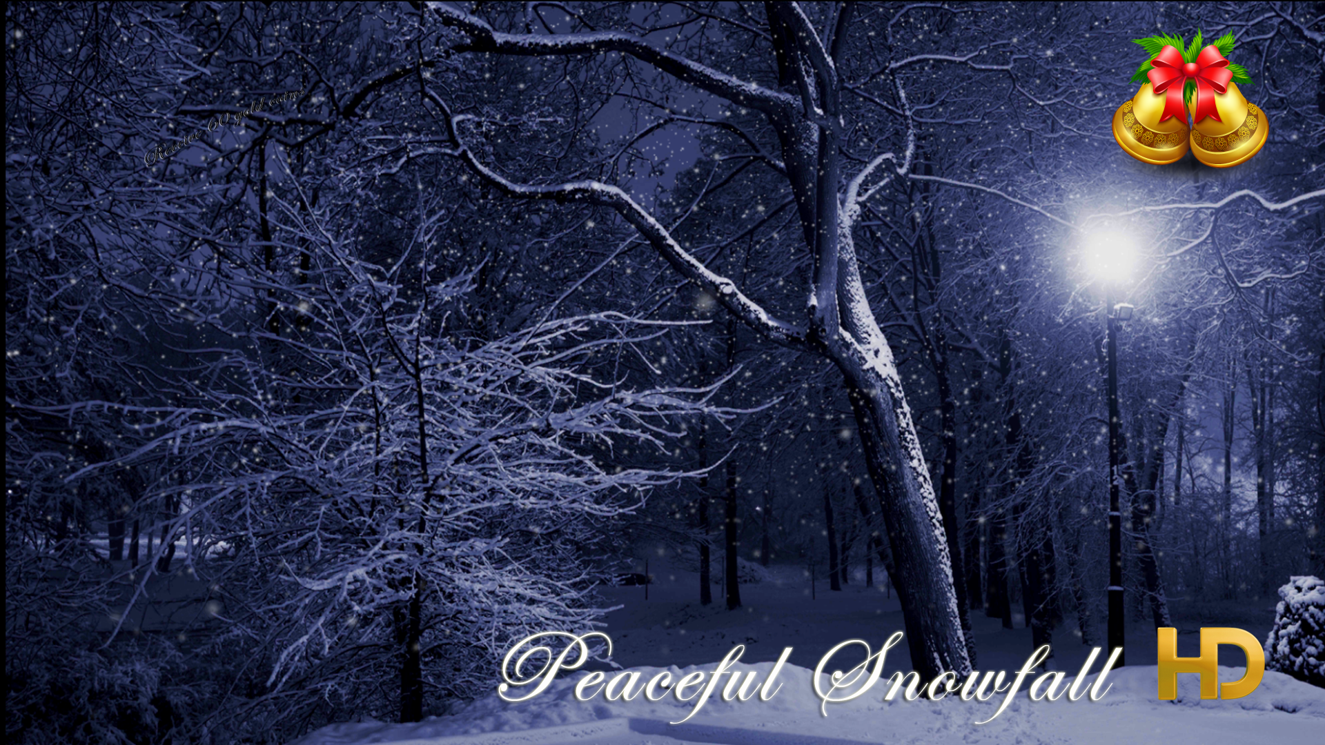 Peaceful Snowfall HD - 12