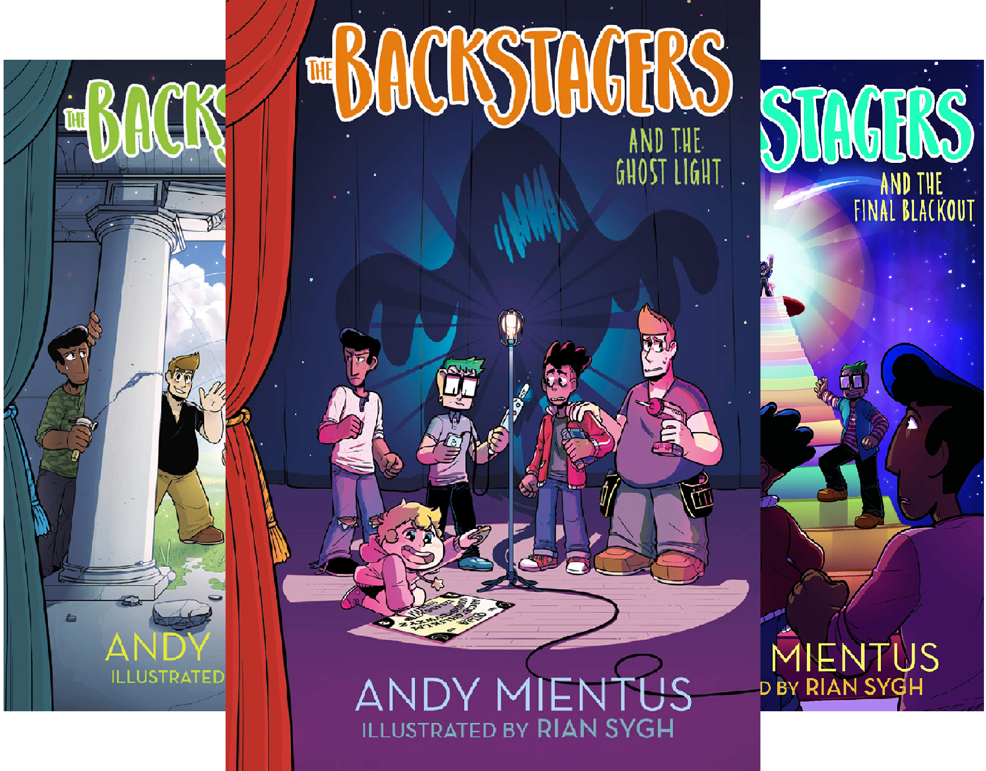 The Backstagers (3 Book Series)