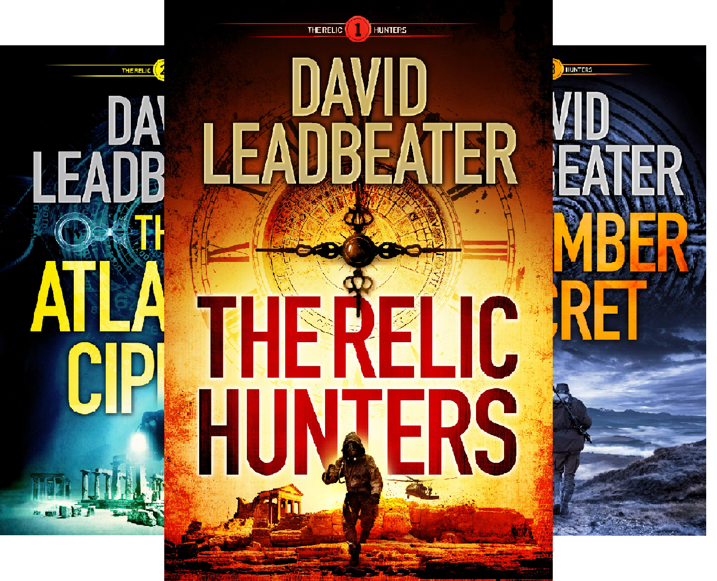 The Relic Hunters (3 Book Series)