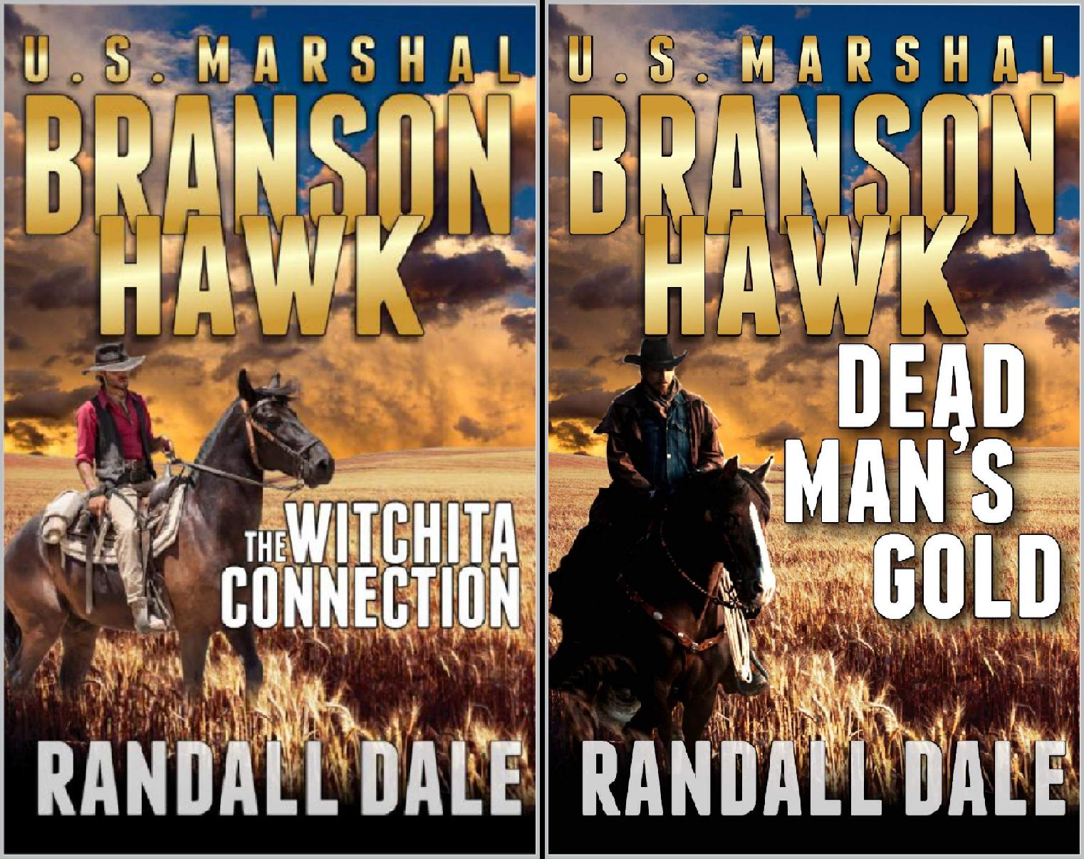 Branson Hawk: United States Marshal Western Series (2 Book Series) (Scott Wayne)