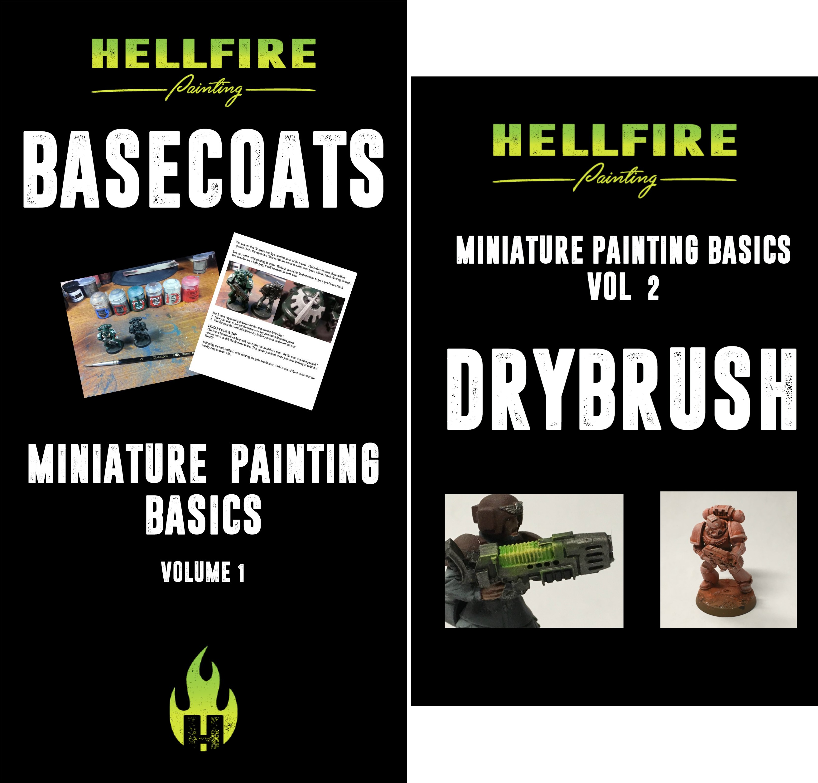 Miniature Painting Basics (2 Book Series)