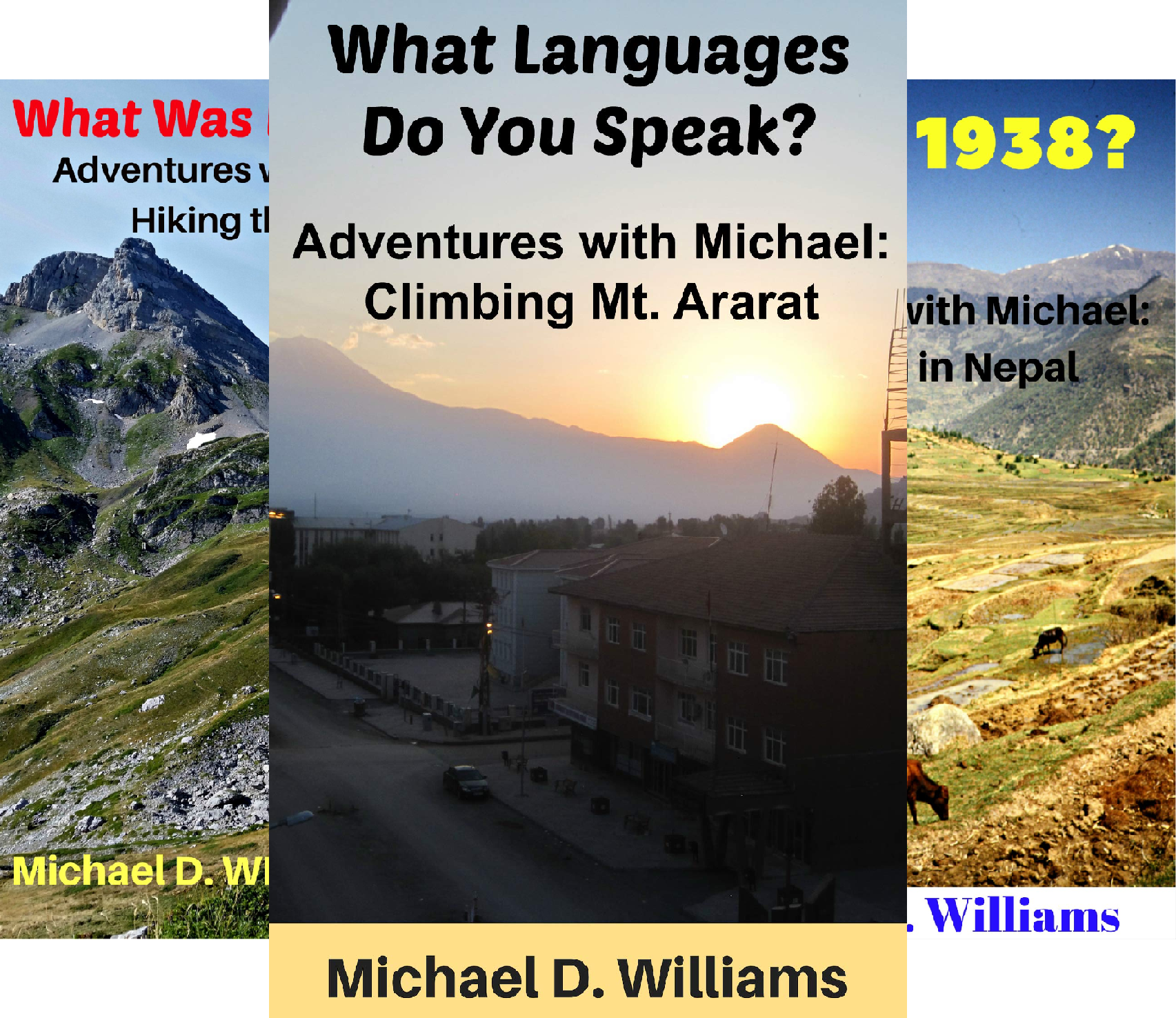 Adventures with Michael (6 Book Series)