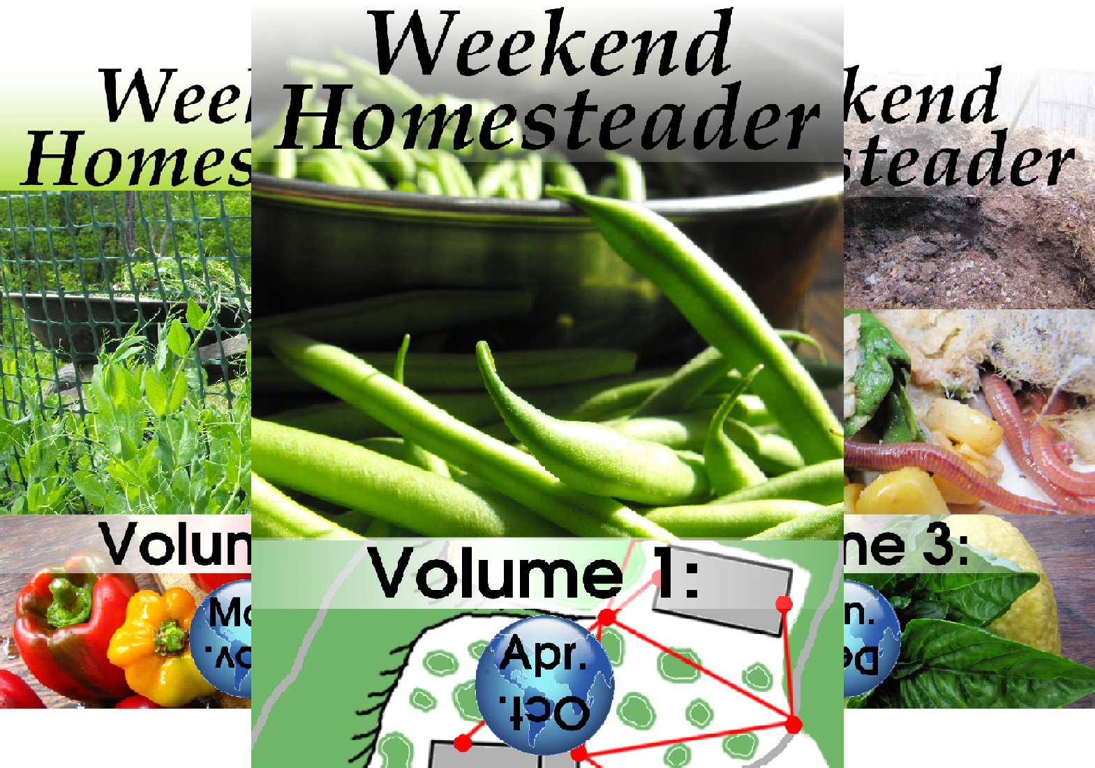 Weekend Homesteader (12 Book Series)