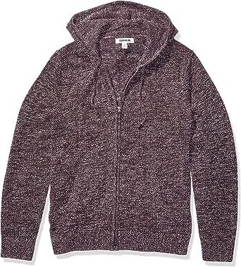 Marchio Amazon - Goodthreads Supersoft Marled Fullzip Hoodie Sweater Uomo
