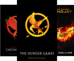 Hunger Games Trilogy (3 Book Series) by  Suzanne Collins