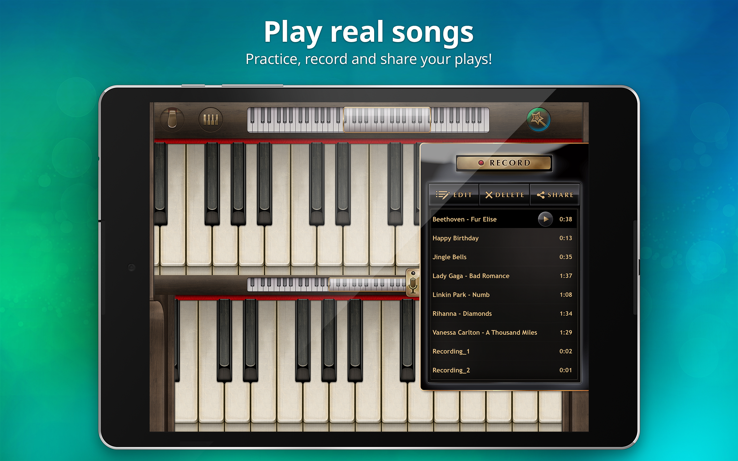 Piano - Virtual Piano Keyboard with Games to Learn Songs, Notes and Chords: Amazon.co.uk ...