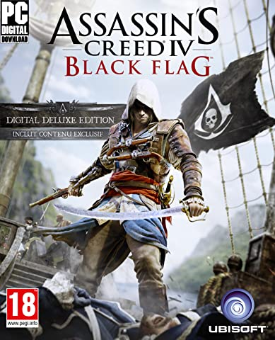 Assassin's Creed IV Black Flag - Deluxe Edition [Code Jeu PC - Uplay]