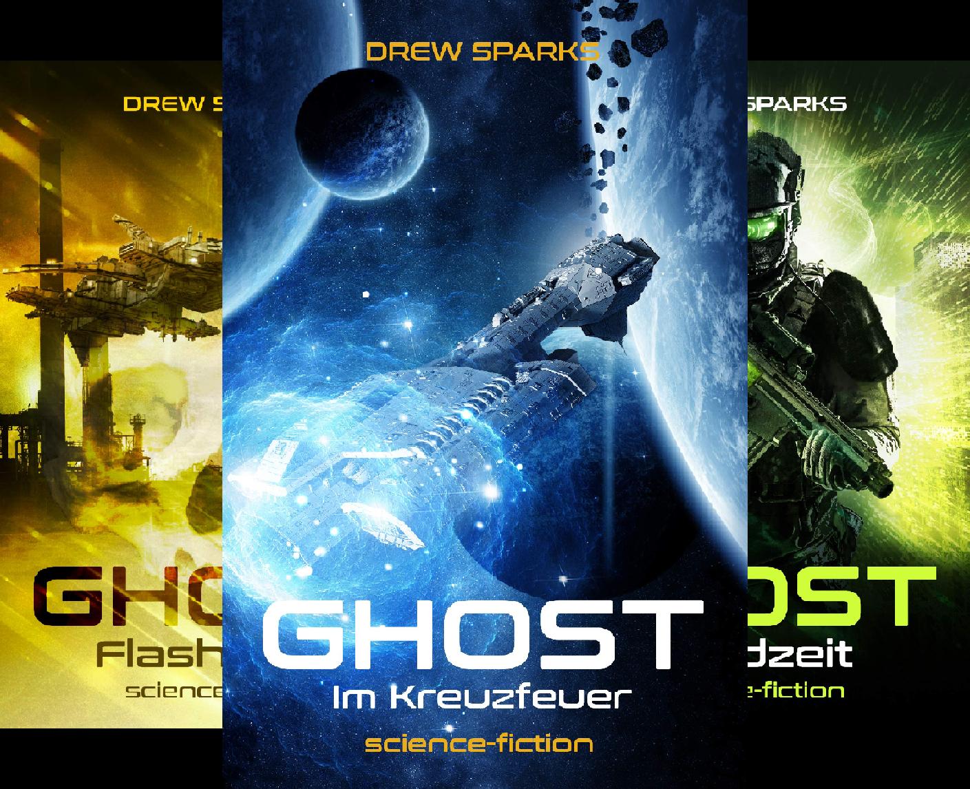 Ghost (Reihe in 4 Bänden)