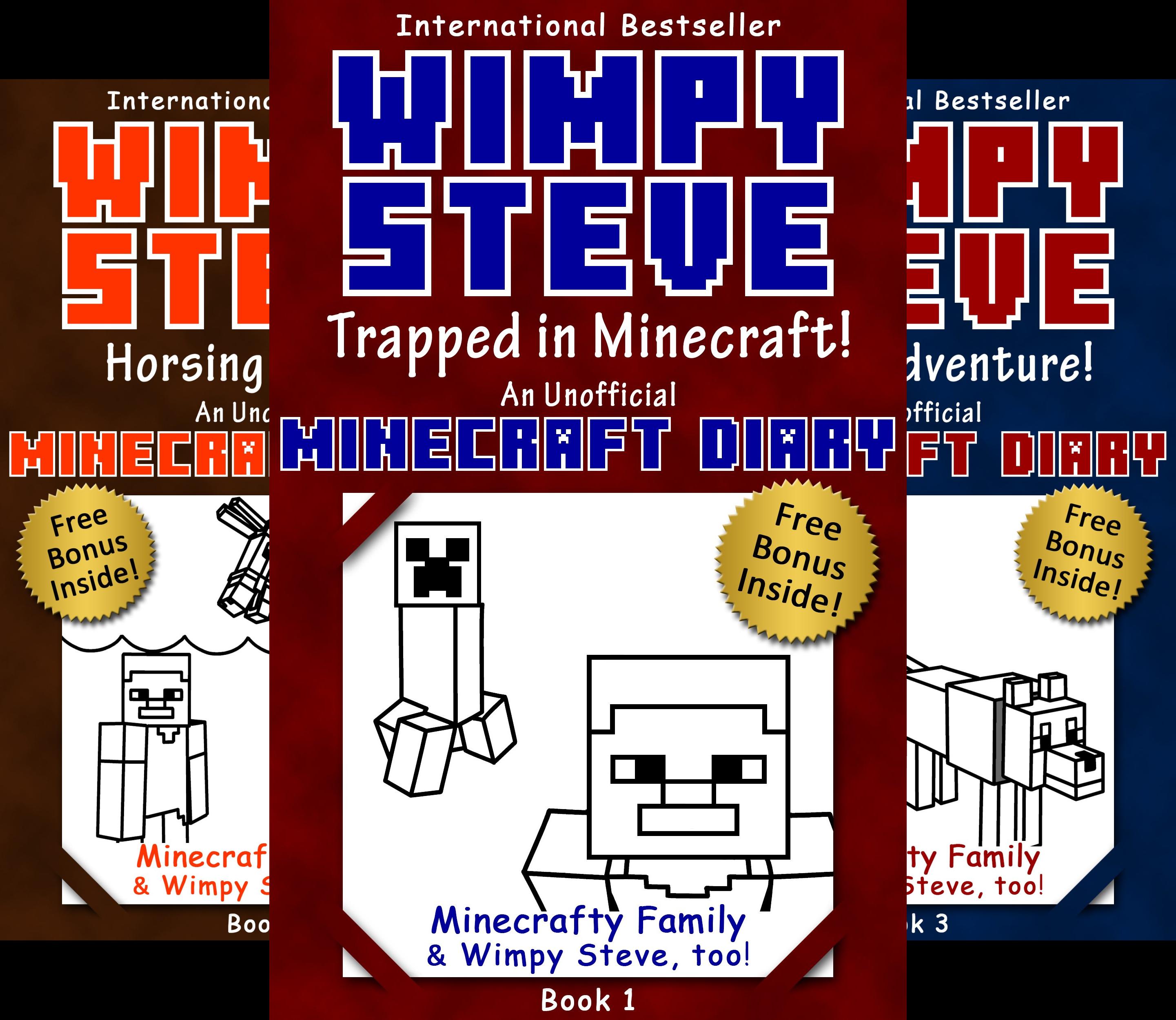 Minecraft Diary- Wimpy Steve (13 Book Series)