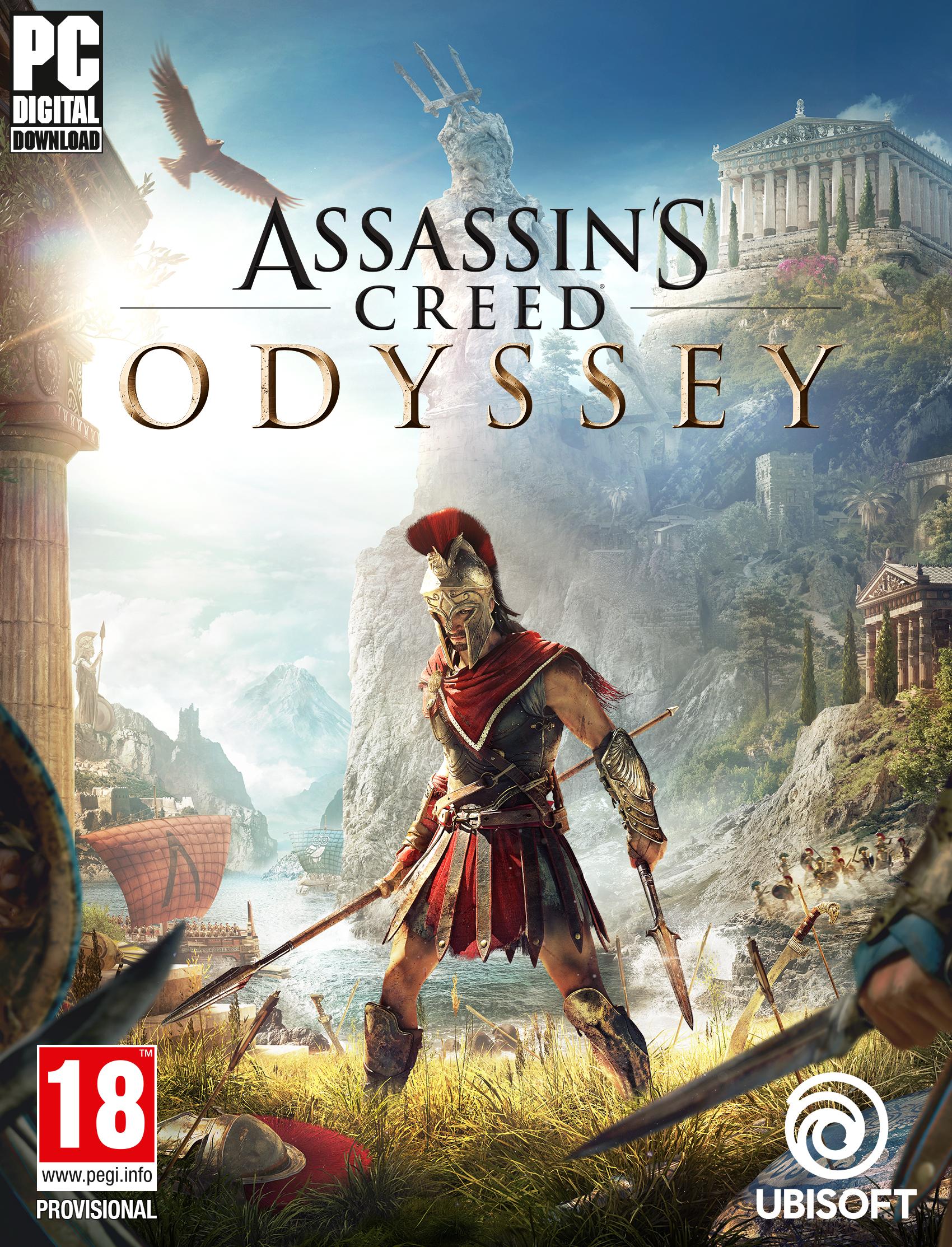 Assassin's Creed Odyssey [Code Jeu PC - Uplay]