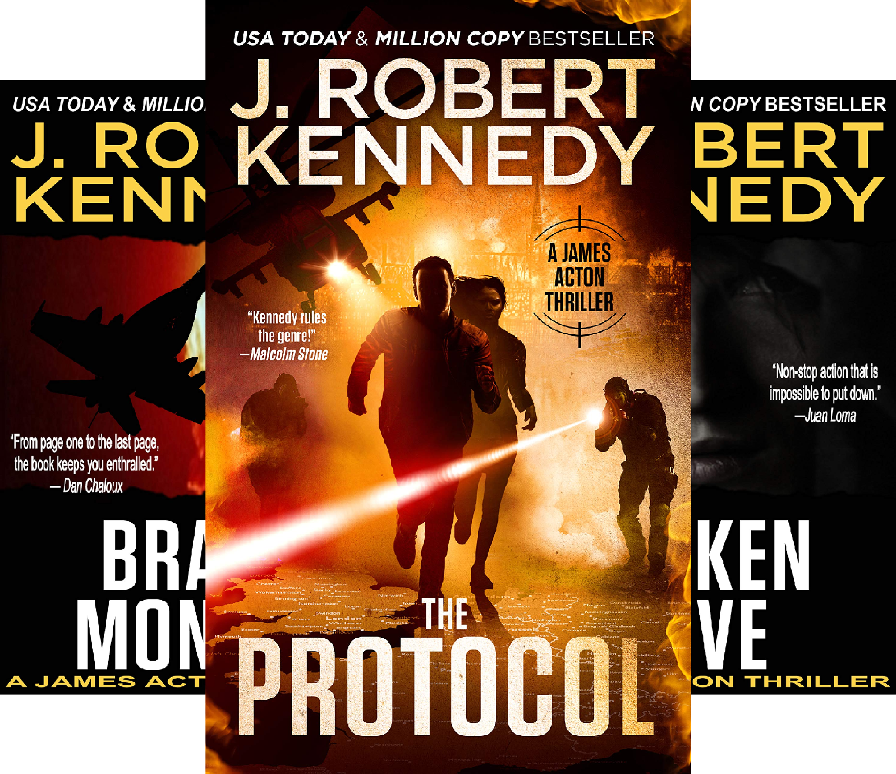 James Acton Thrillers (23 Book Series)