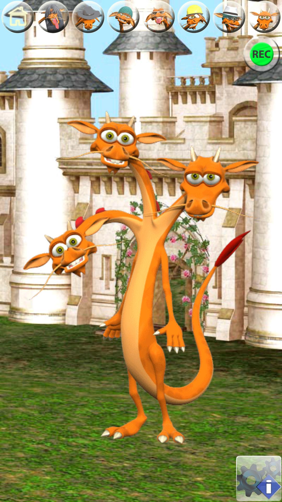 Zoom IMG-2 talking 3 headed dragon free