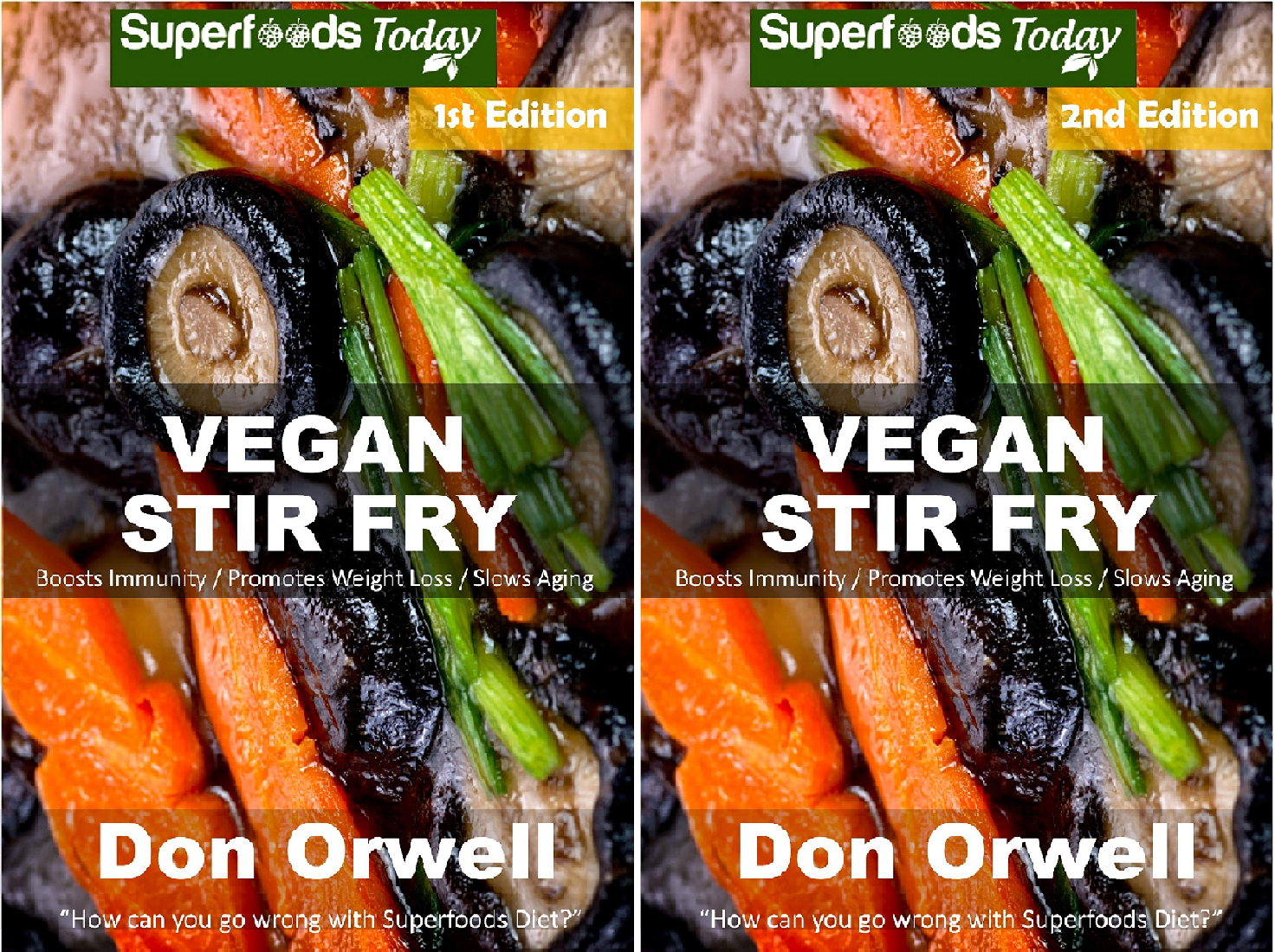 Vegan Stir Fry (2 Book Series)