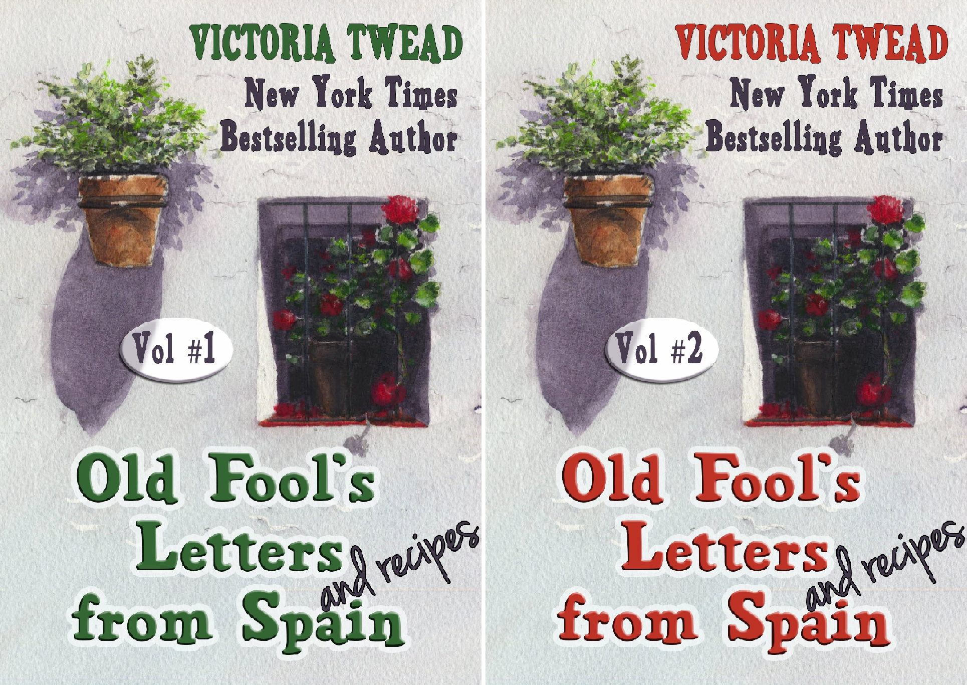 Letters from Spain (2 Book Series)