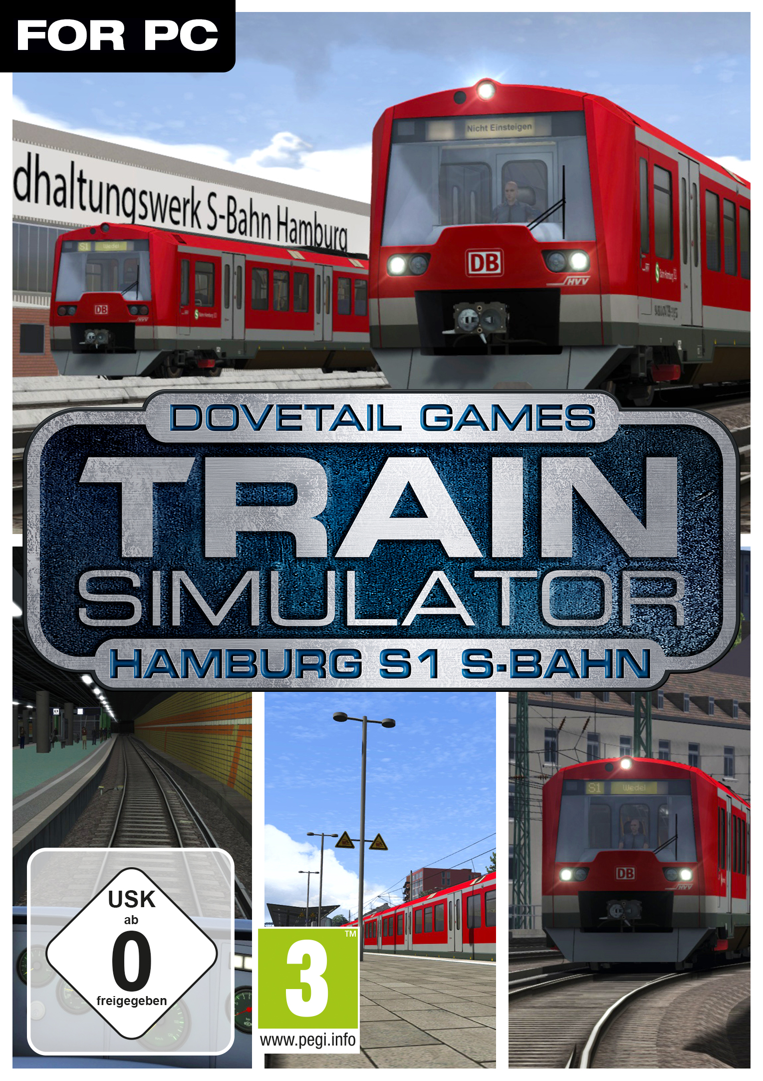 Train Simulator: Hamburg S1 S-Bahn Route Add-On [PC Code - Steam]
