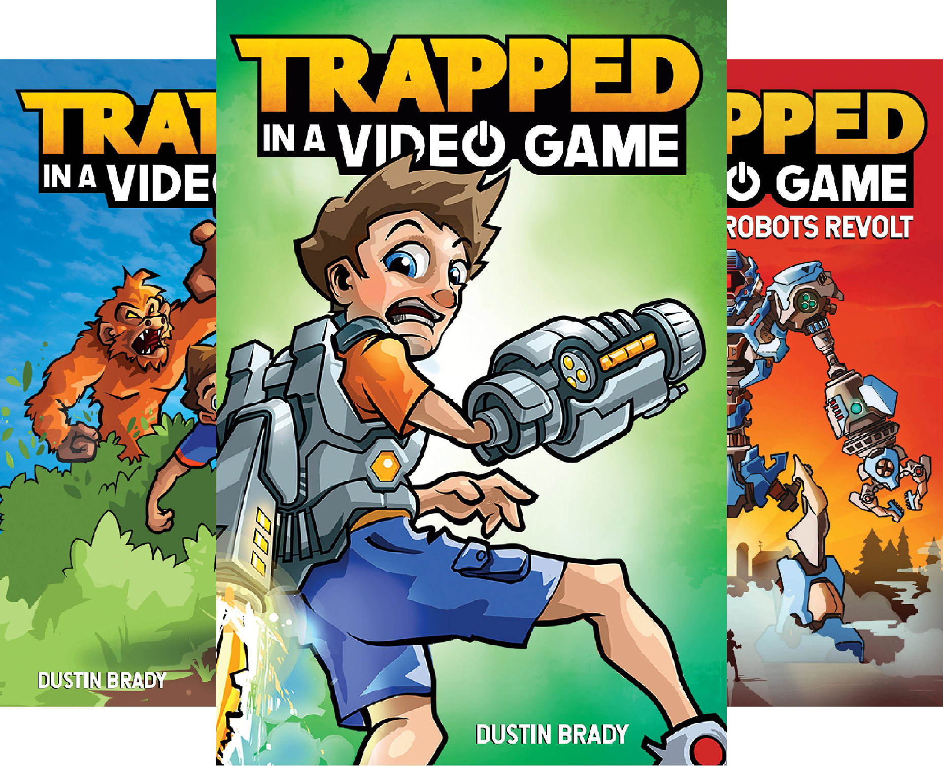 Trapped in a Video Game (4 Book Series)