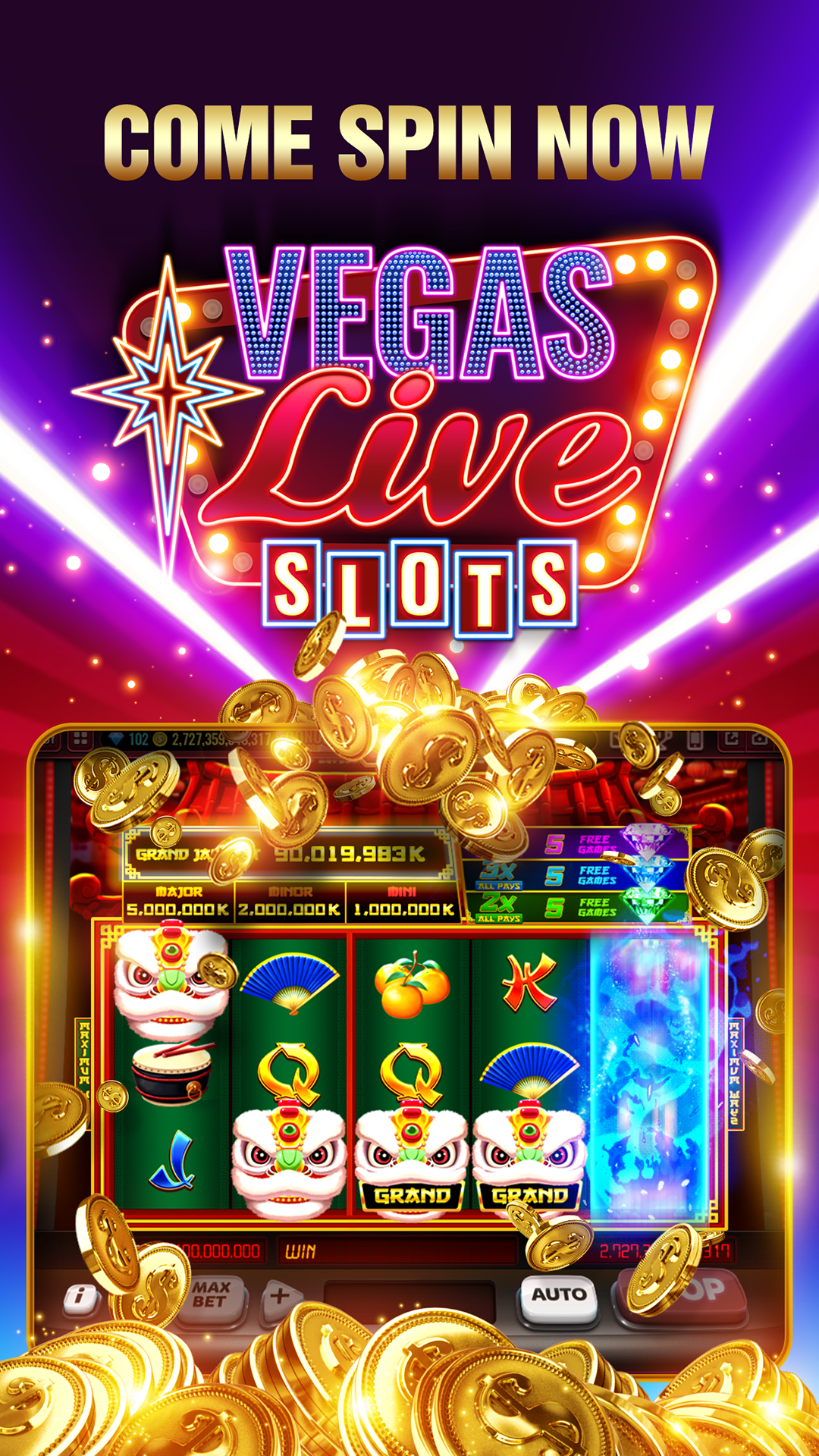 Vegas Free Slots Machine Games