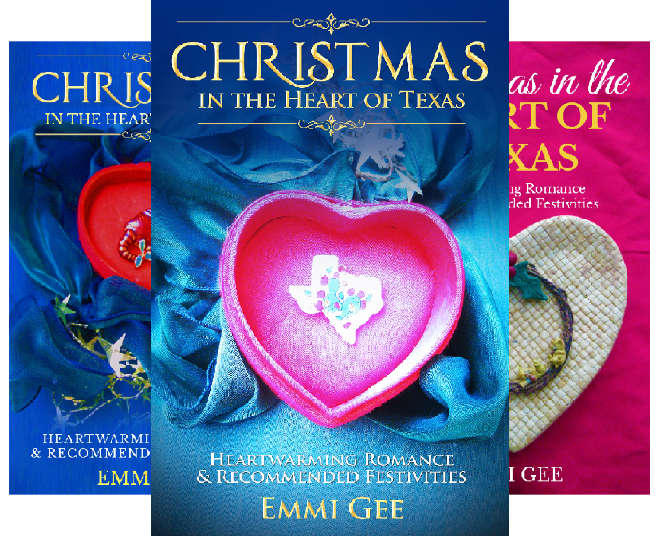 Christmas in the Heart of Texas (3 Book Series)