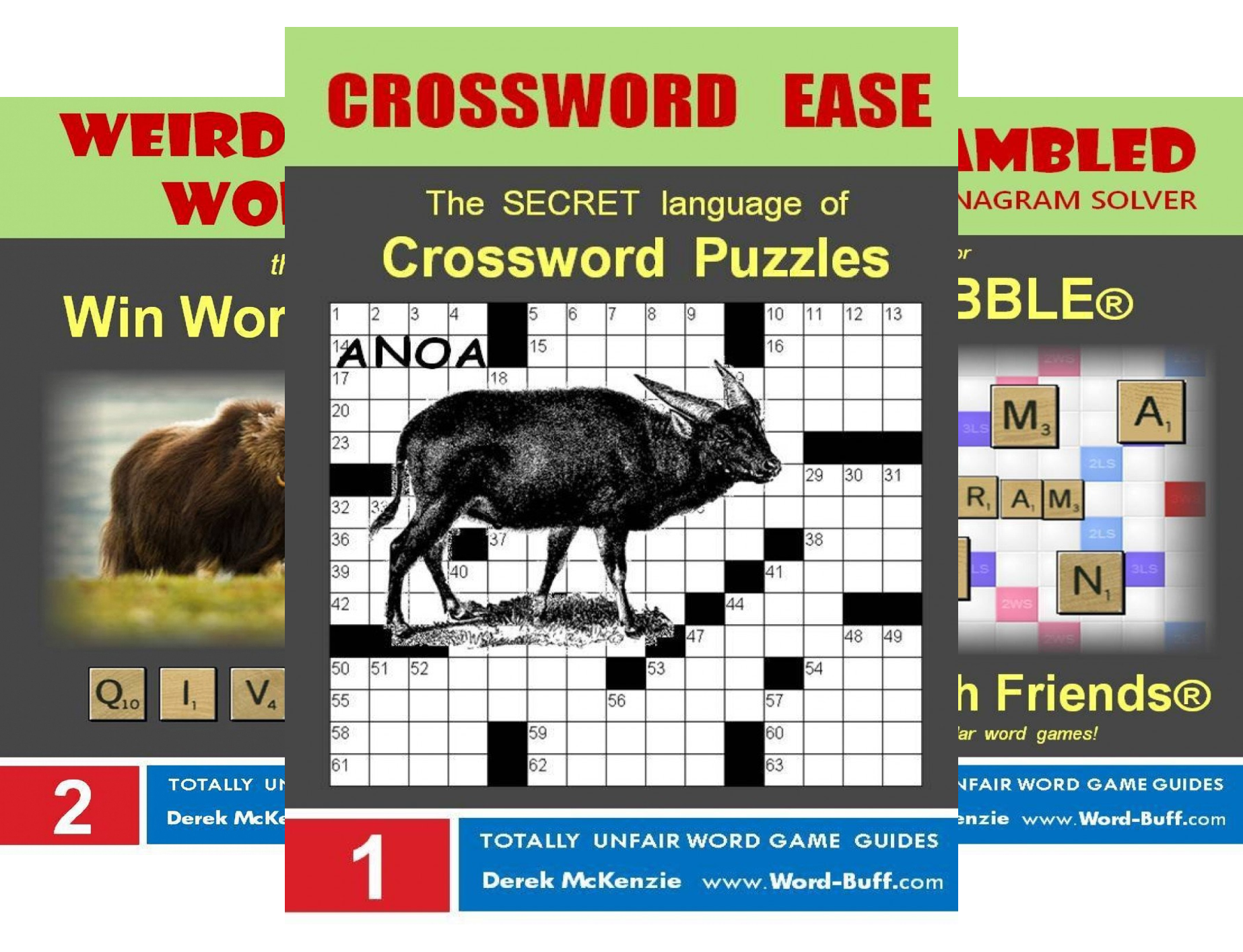 Word Buff's Totally Unfair Word Game Guides (4 Book Series)