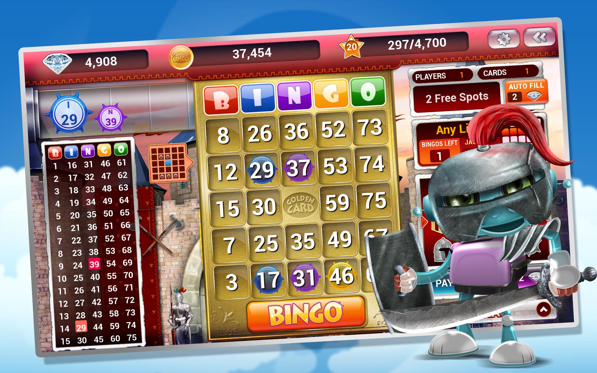 Wild Bingo Dragon Play