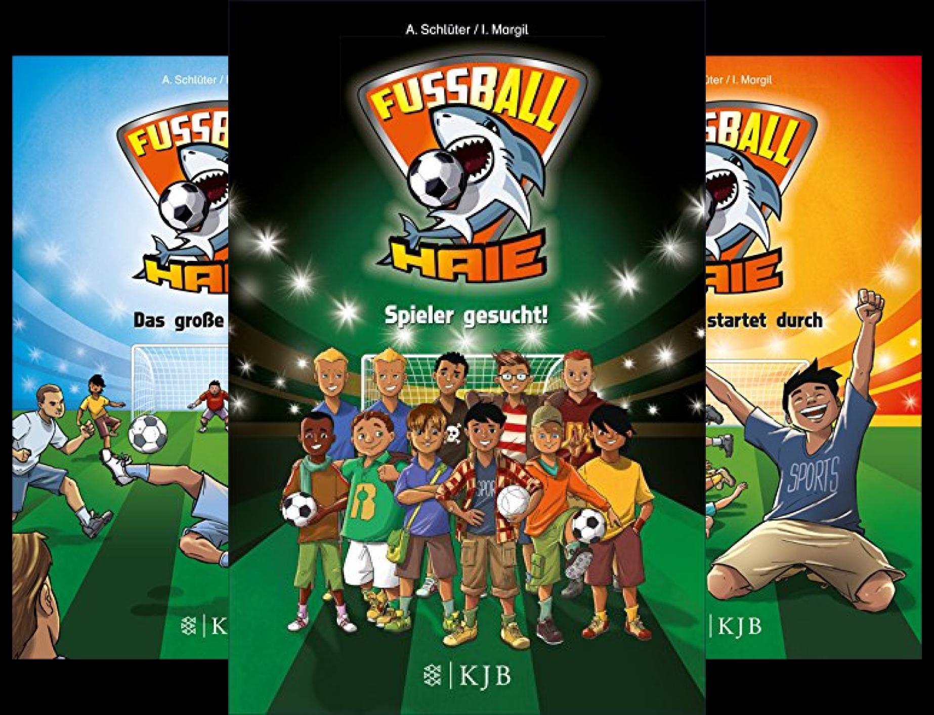 Fußball-Haie (Reihe in 10 Bänden)
