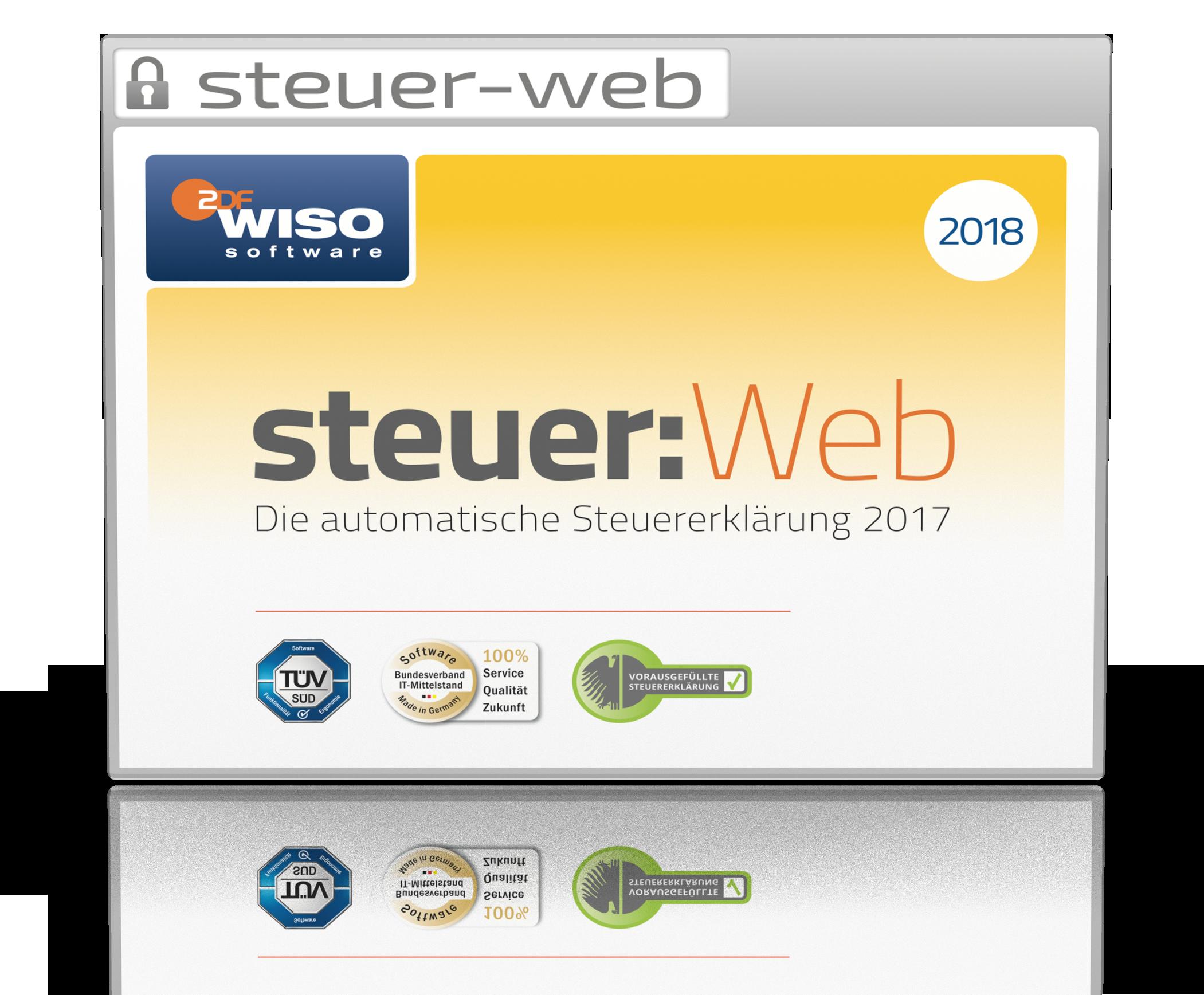 steuer:Web PC (für Steuerjahr 2017) [Online Code]