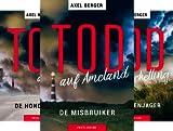 Mordwestfriesische Inselkrimis (Reihe in 4 Bänden)